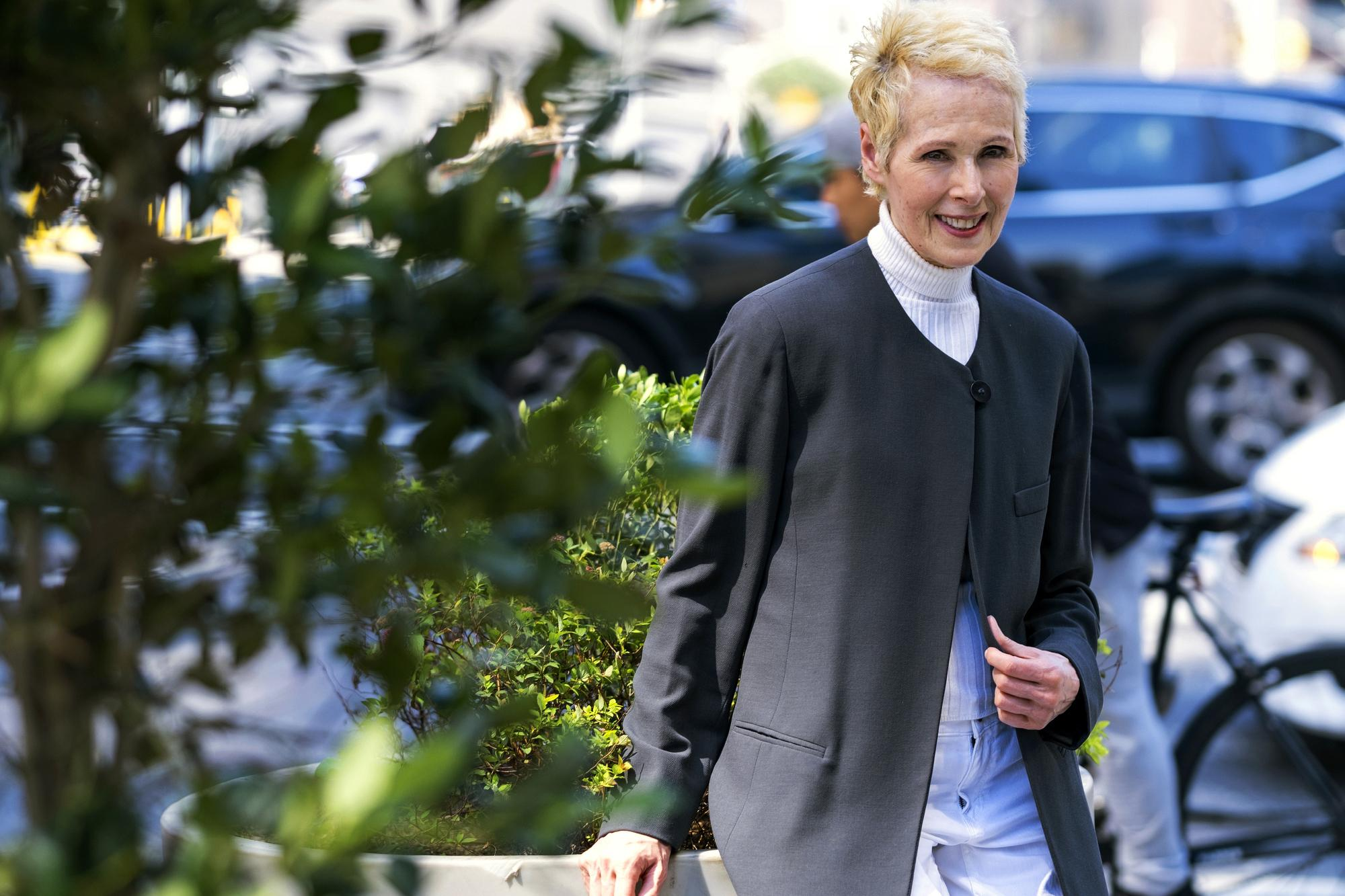 E. Jean Carroll on not being Trump's 'type': 'I'm so glad'