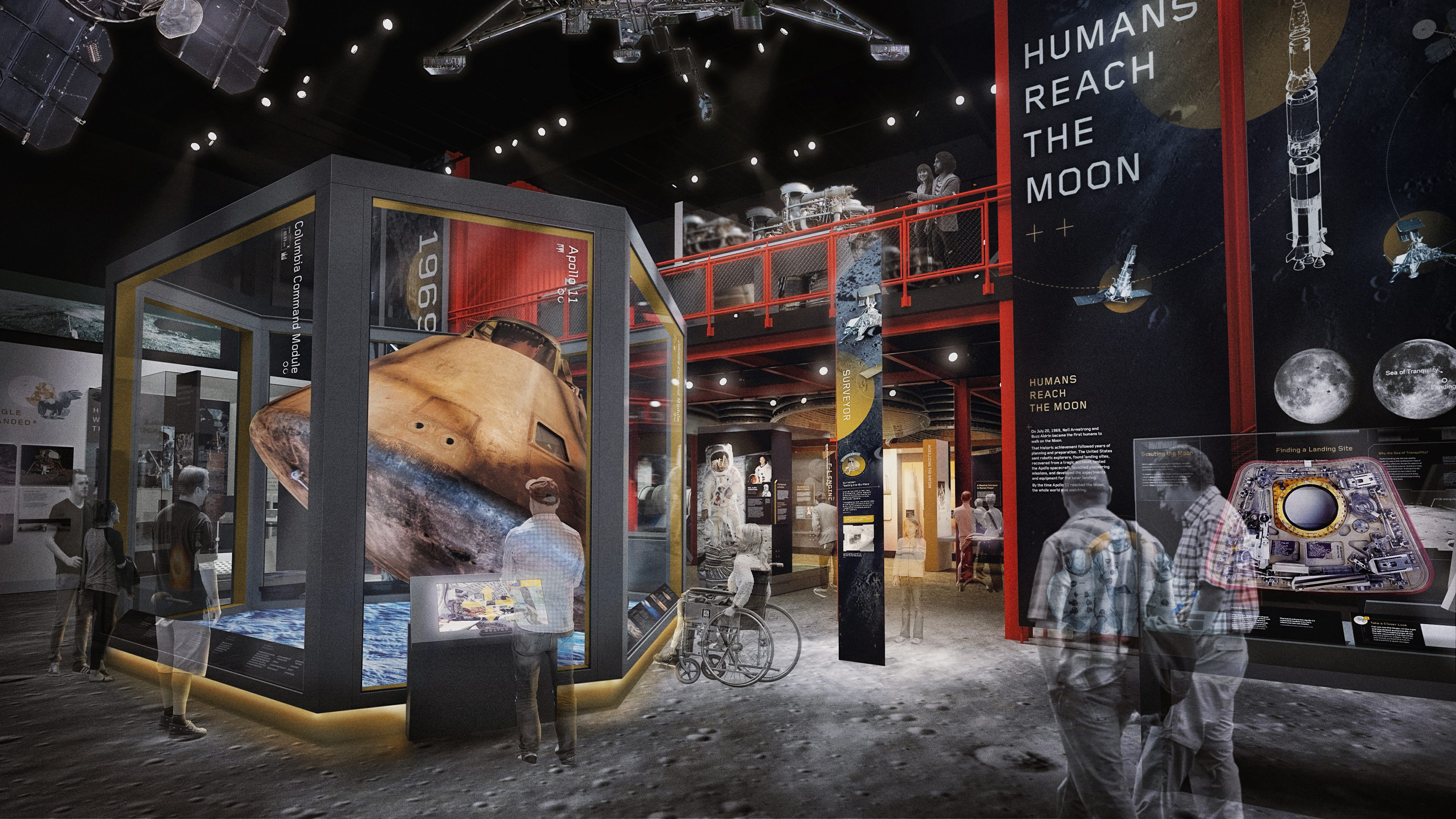 Smithsonian National Air And Space Museum S Destination Moon