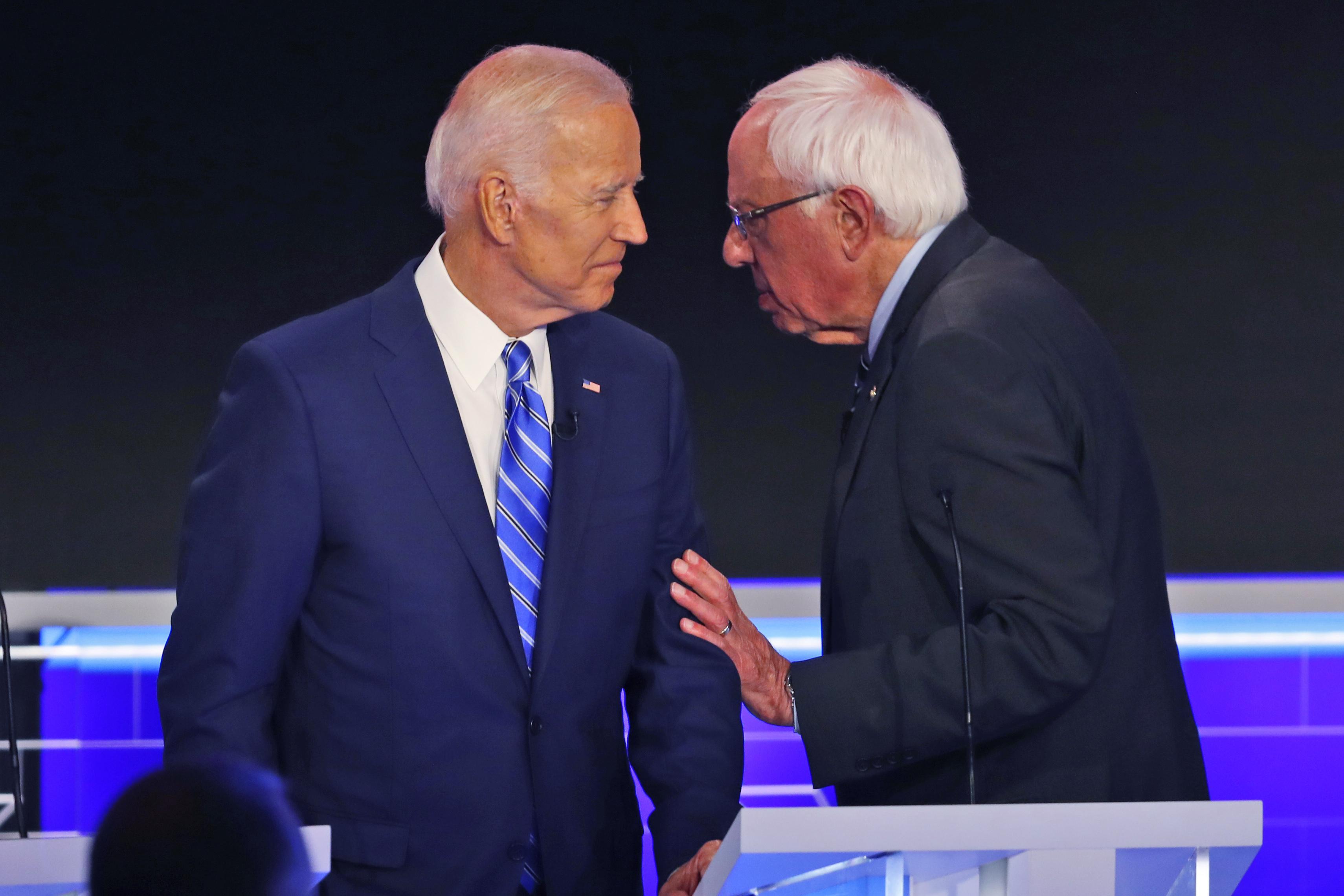 Joe Biden leads N.H. primary, Bernie Sanders' support dips: Poll
