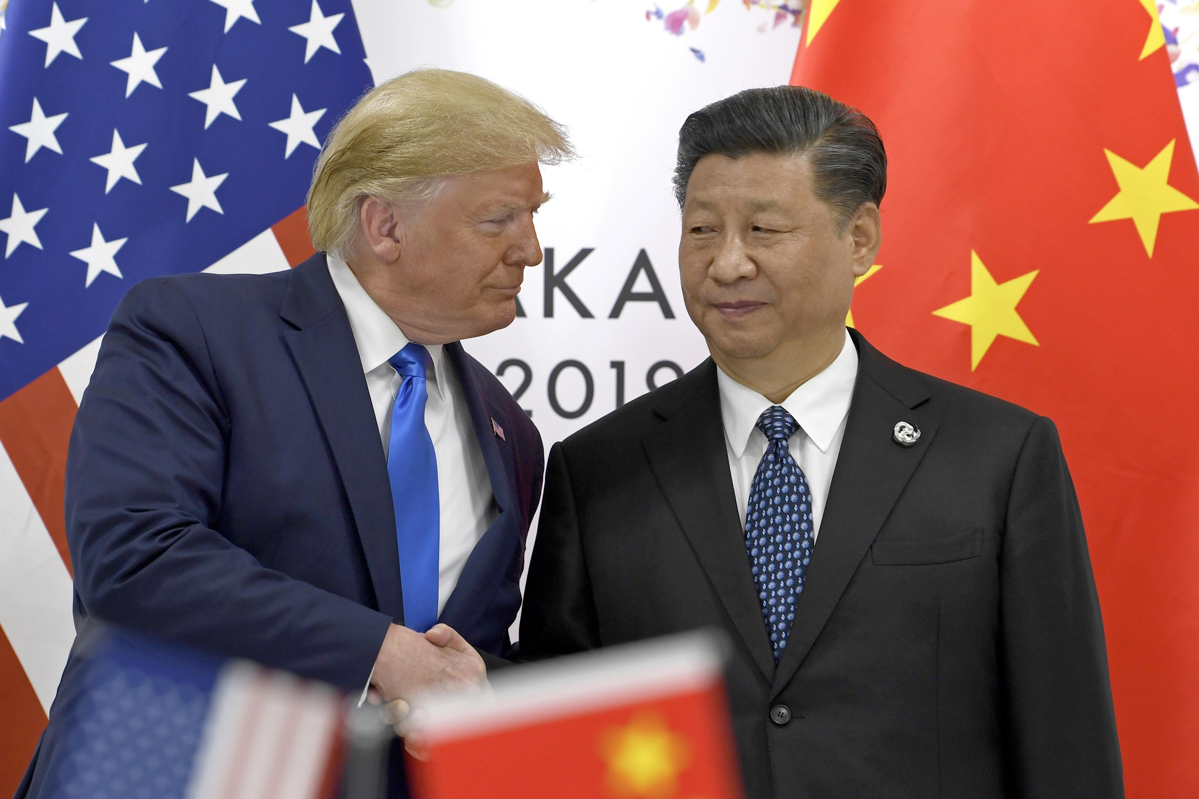 Trump says China likely stalling on trade, pending election