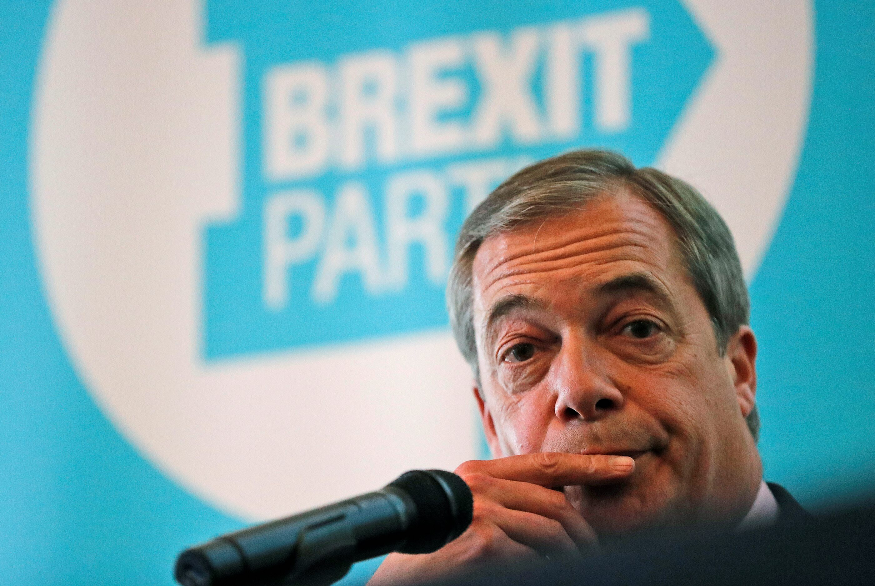 An interview with Nigel Farage: 'I don't want a better deal; I want to leave'