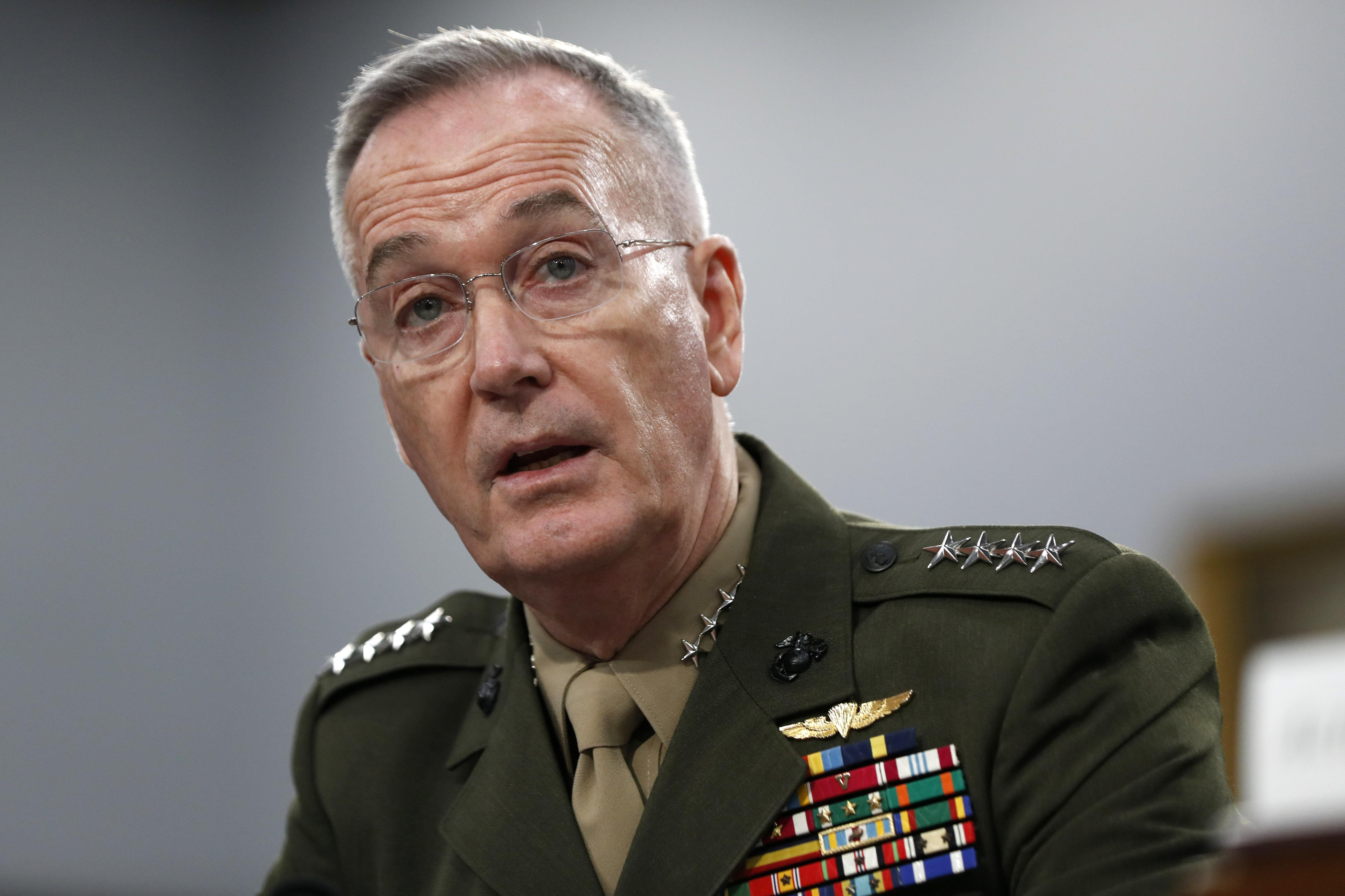 Joseph Dunford, former Joint Chiefs chair, joins Lockheed Martin board of directors