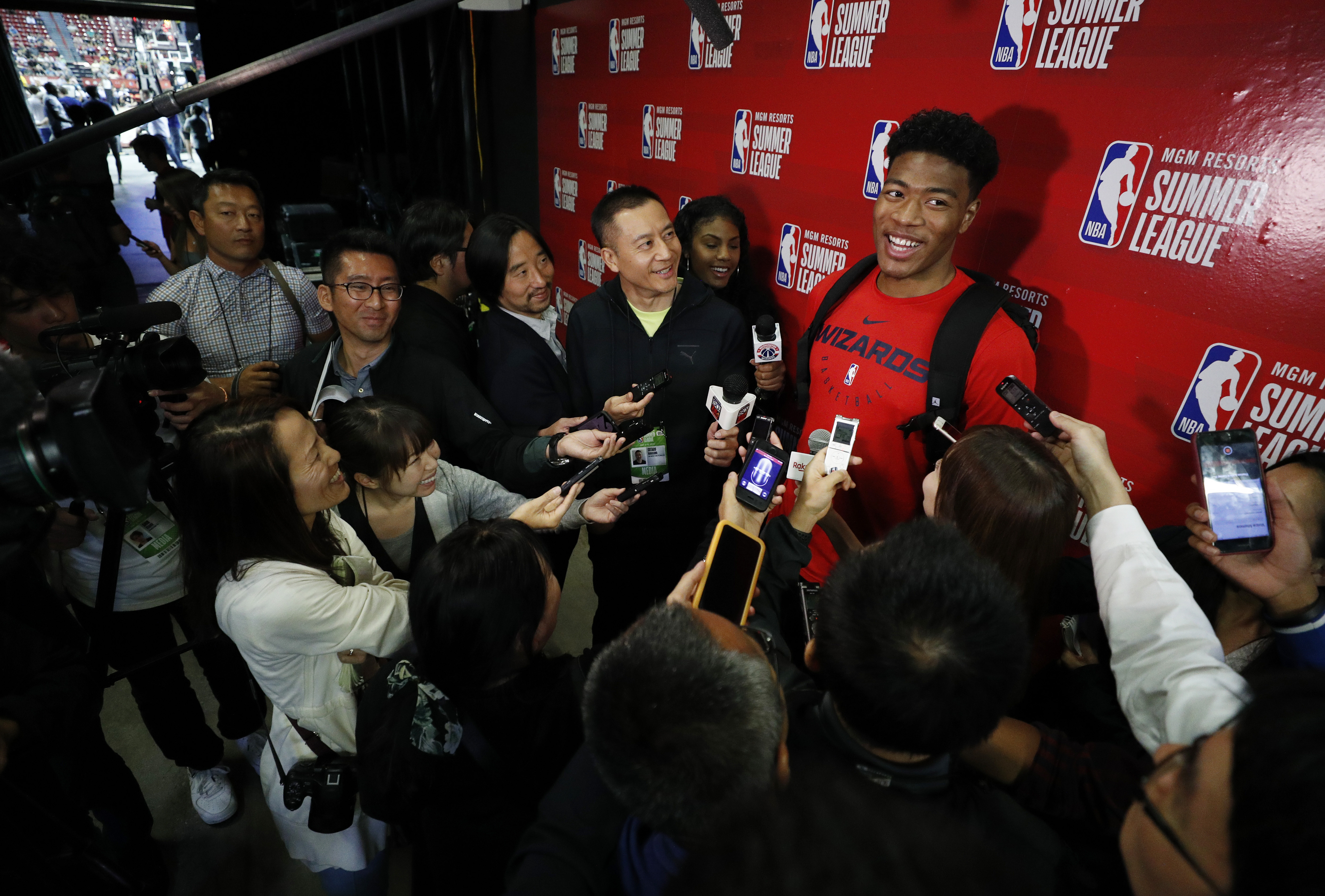 Wizards' Rui Hachimura has role, goals beyond the court