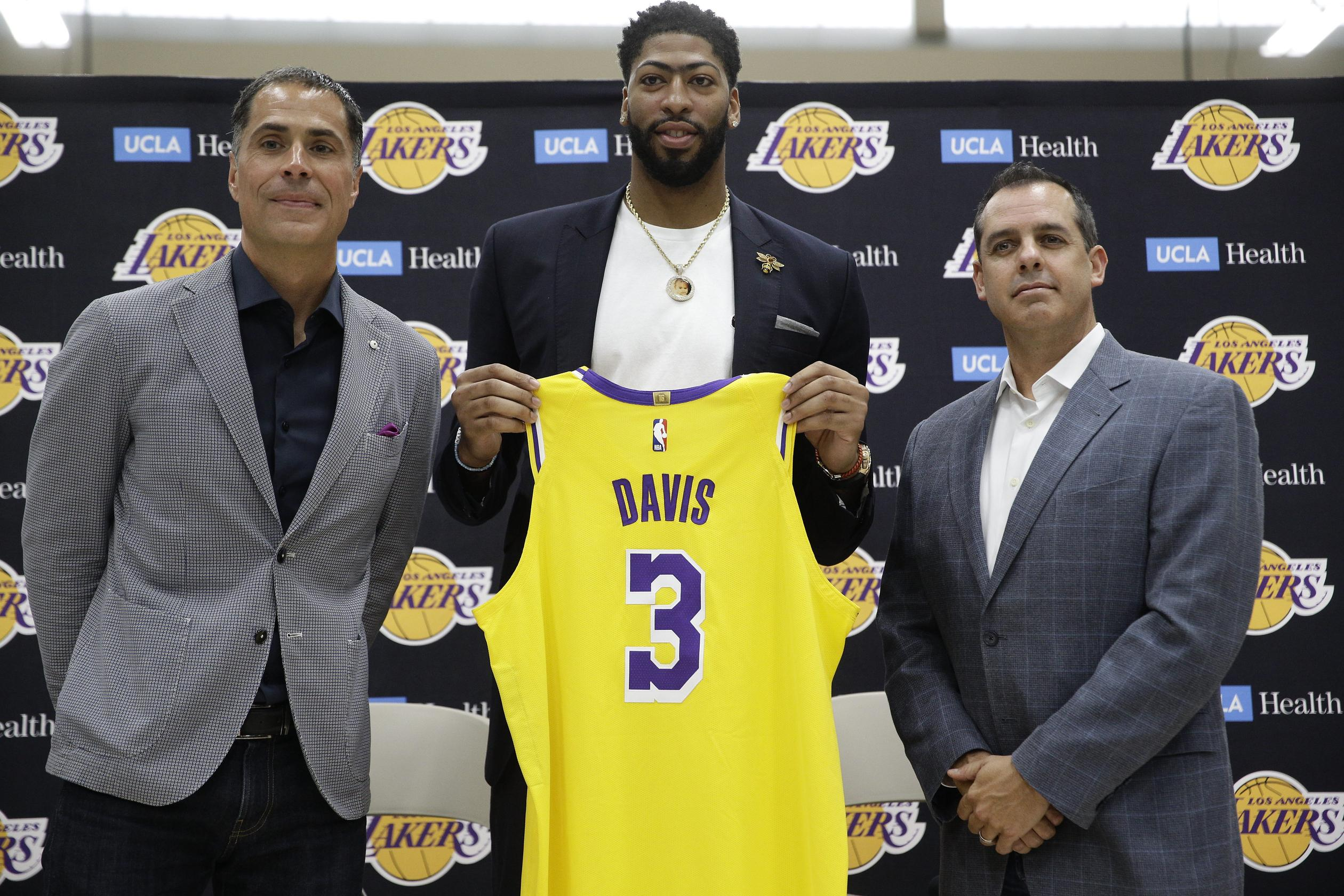 264e9815 AD3: Anthony Davis joins Lakers with championship plans - Washington Times