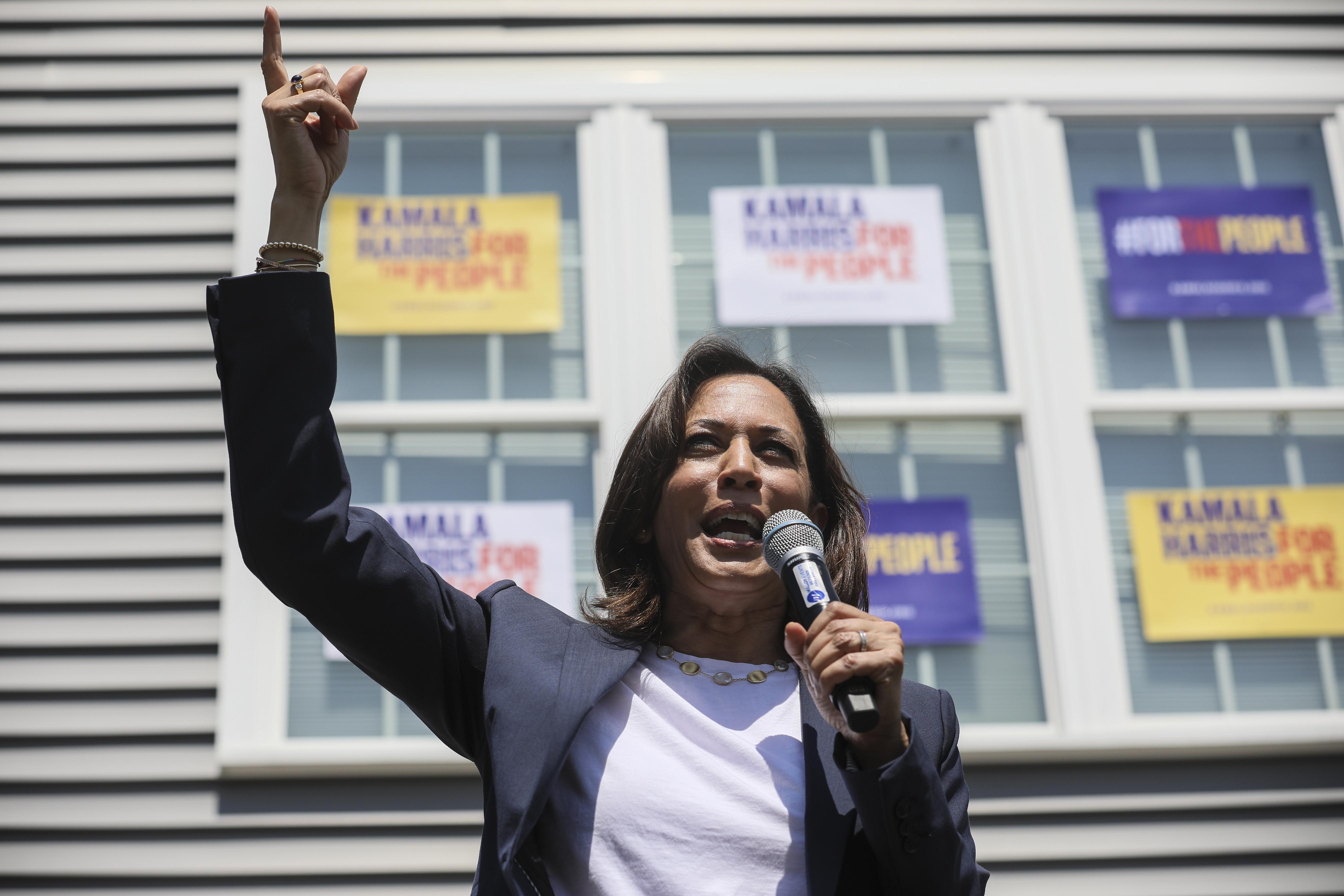 Sen. Kamala Harris: 'Medicare for All' is the 'goal'