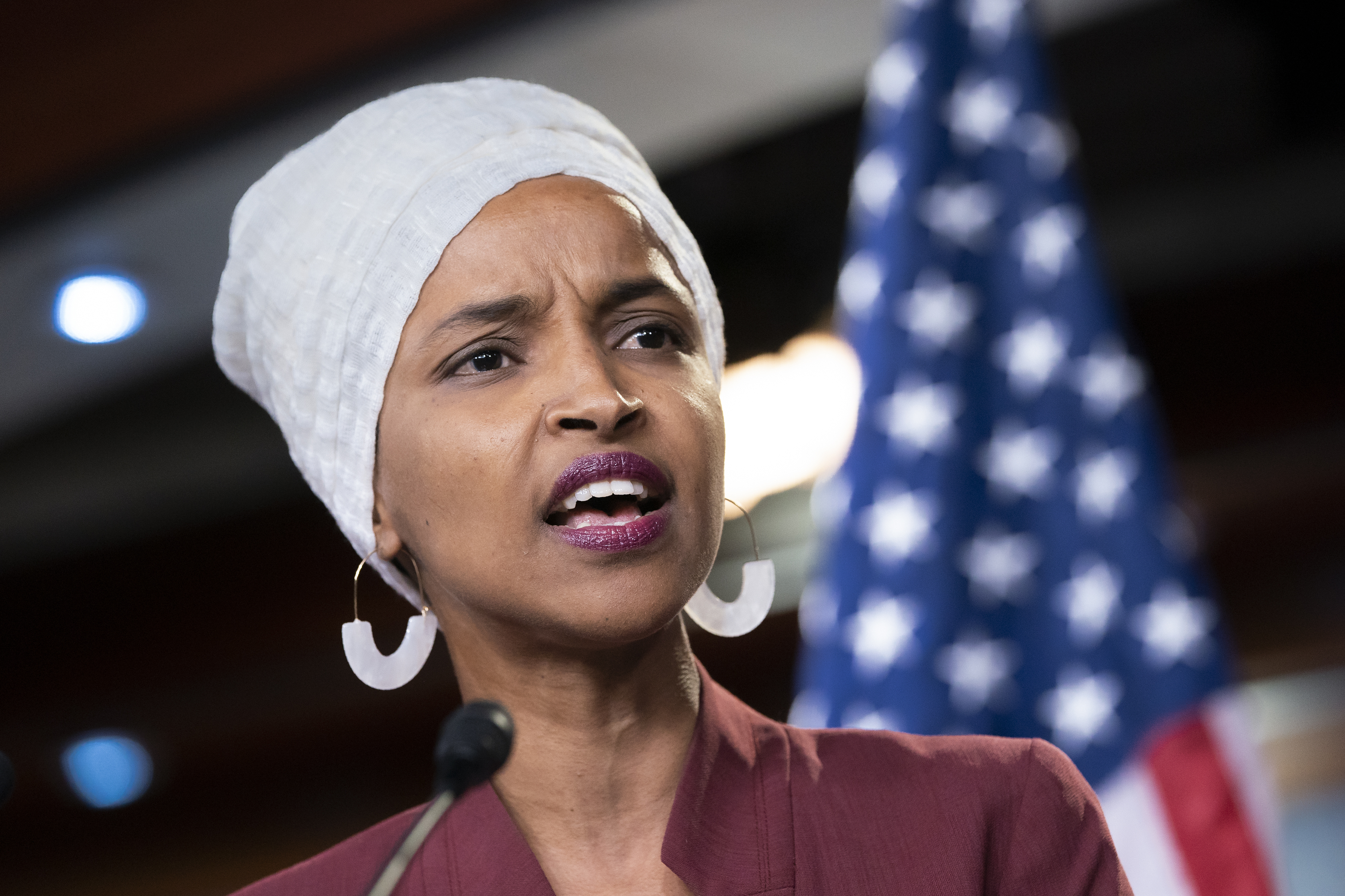 Ilhan Omar: Israel aid should be conditional on treatment of Palestinians