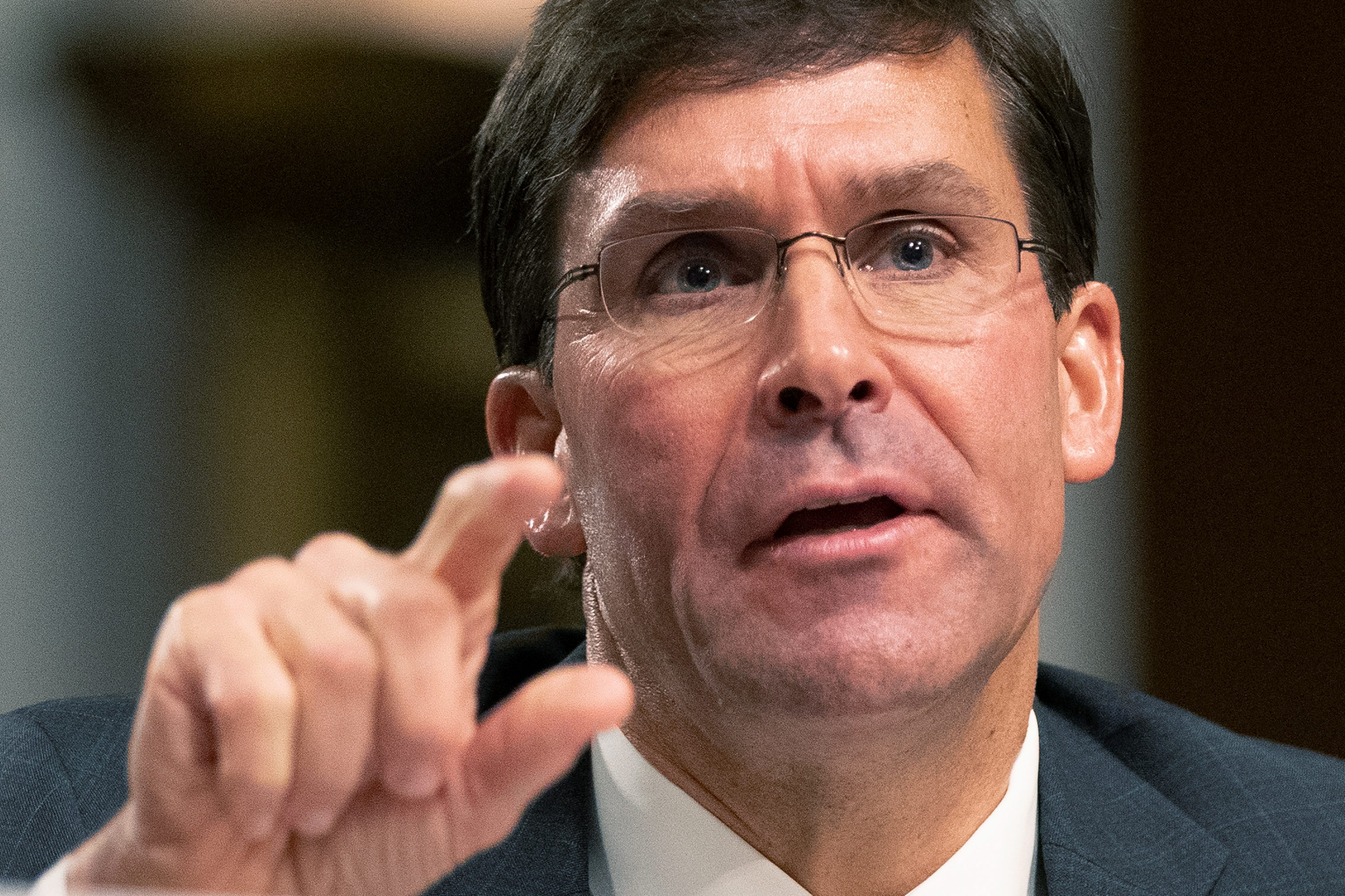 Mark Esper seen as on the fast track to secretary of defense position