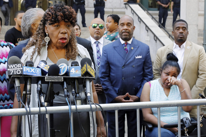 Eric Garner's mother, Kamala Harris slam DOJ decision in case