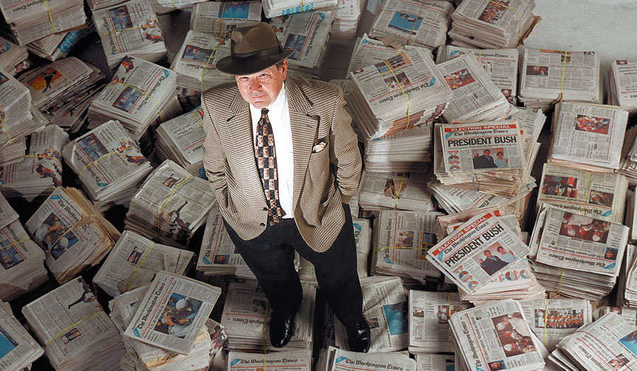 Wes Pruden, Washington Times editor and columnist dies at 83 after remarkable six-decade career