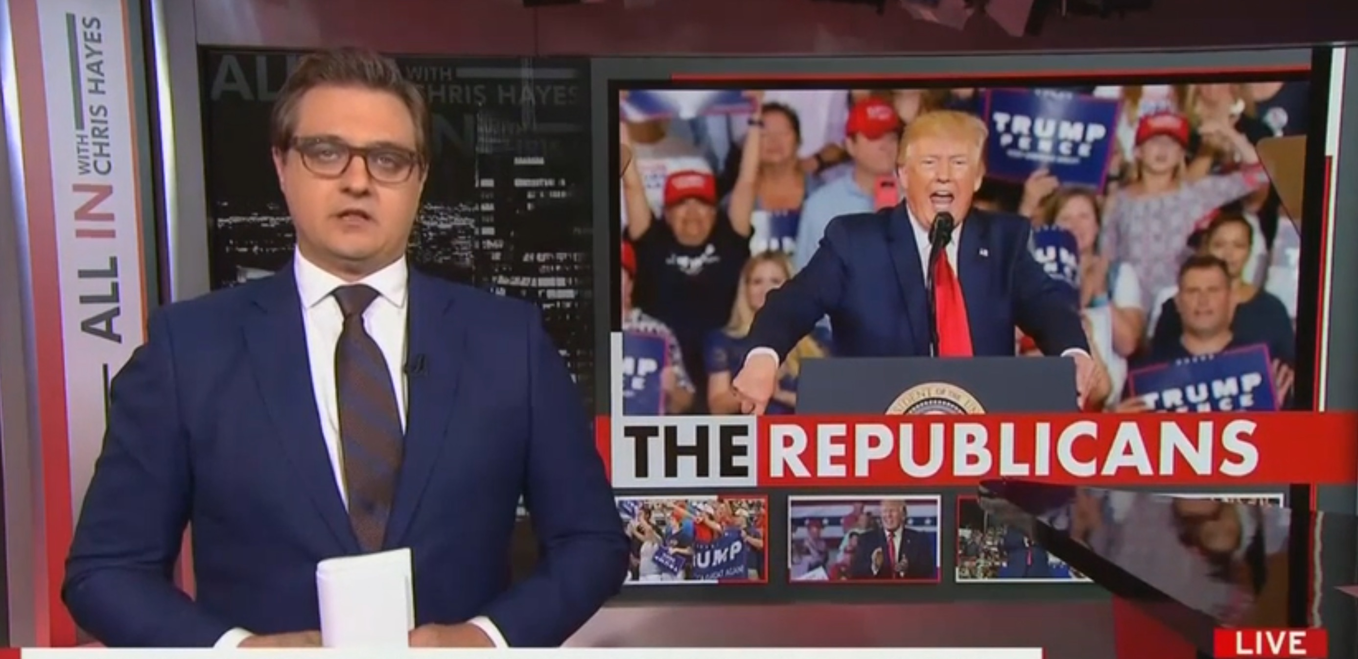 Chris Hayes: Trump's base must have heart 'ripped out