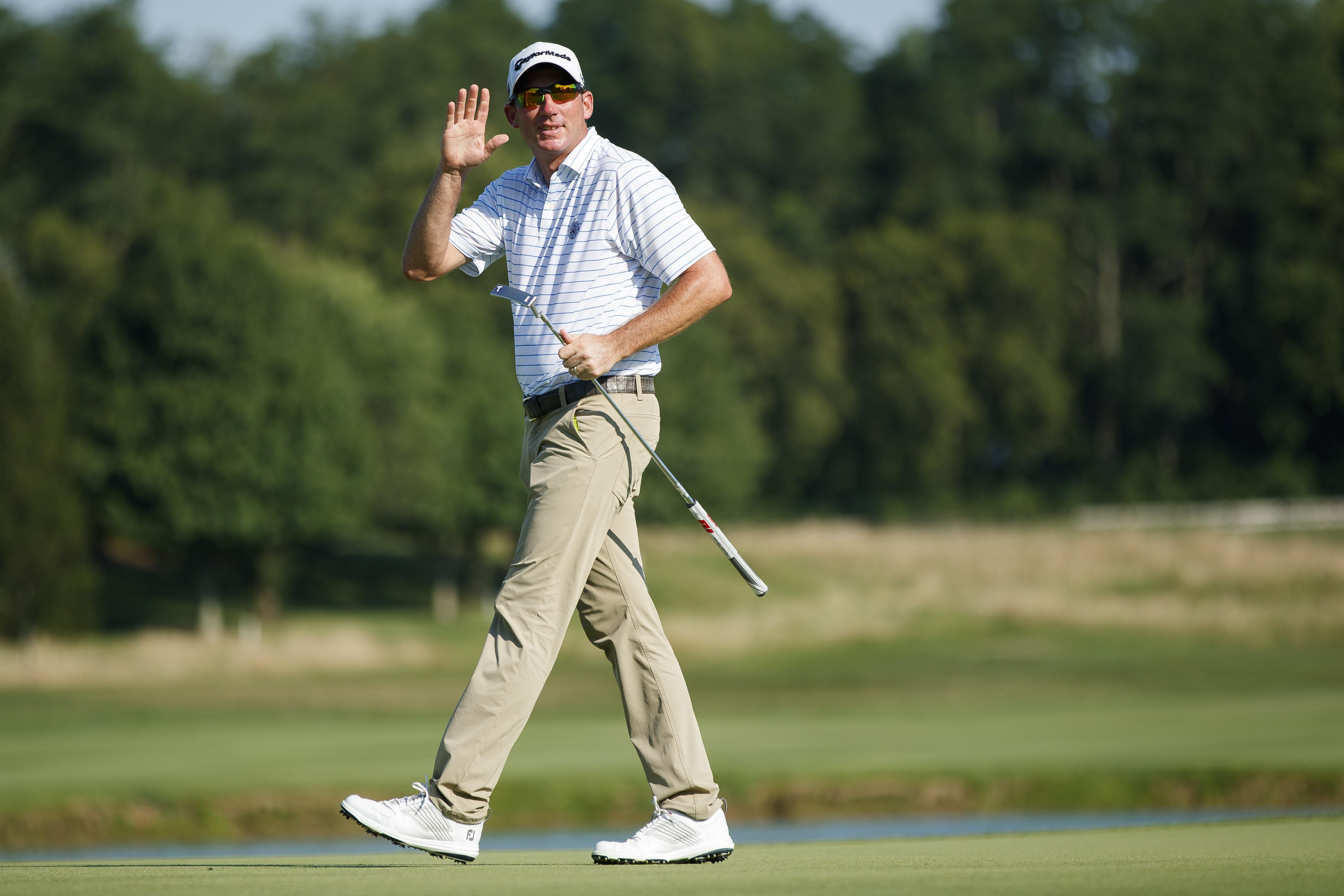 Golfer credits Trump's putting advice amid PGA tournament lead