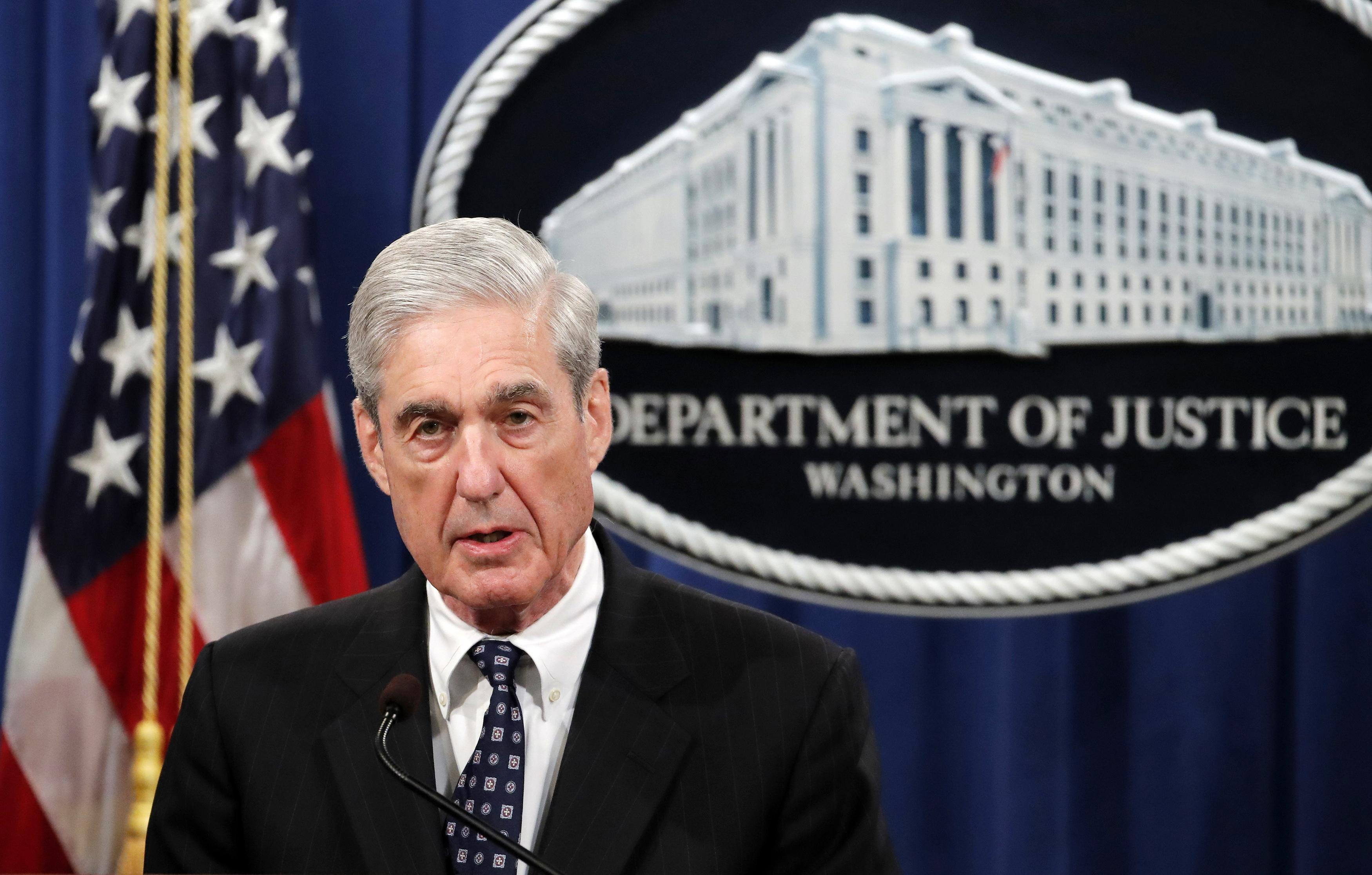 Trump rips Mueller prior to House hearings; 'Ridiculous Witch Hunt'