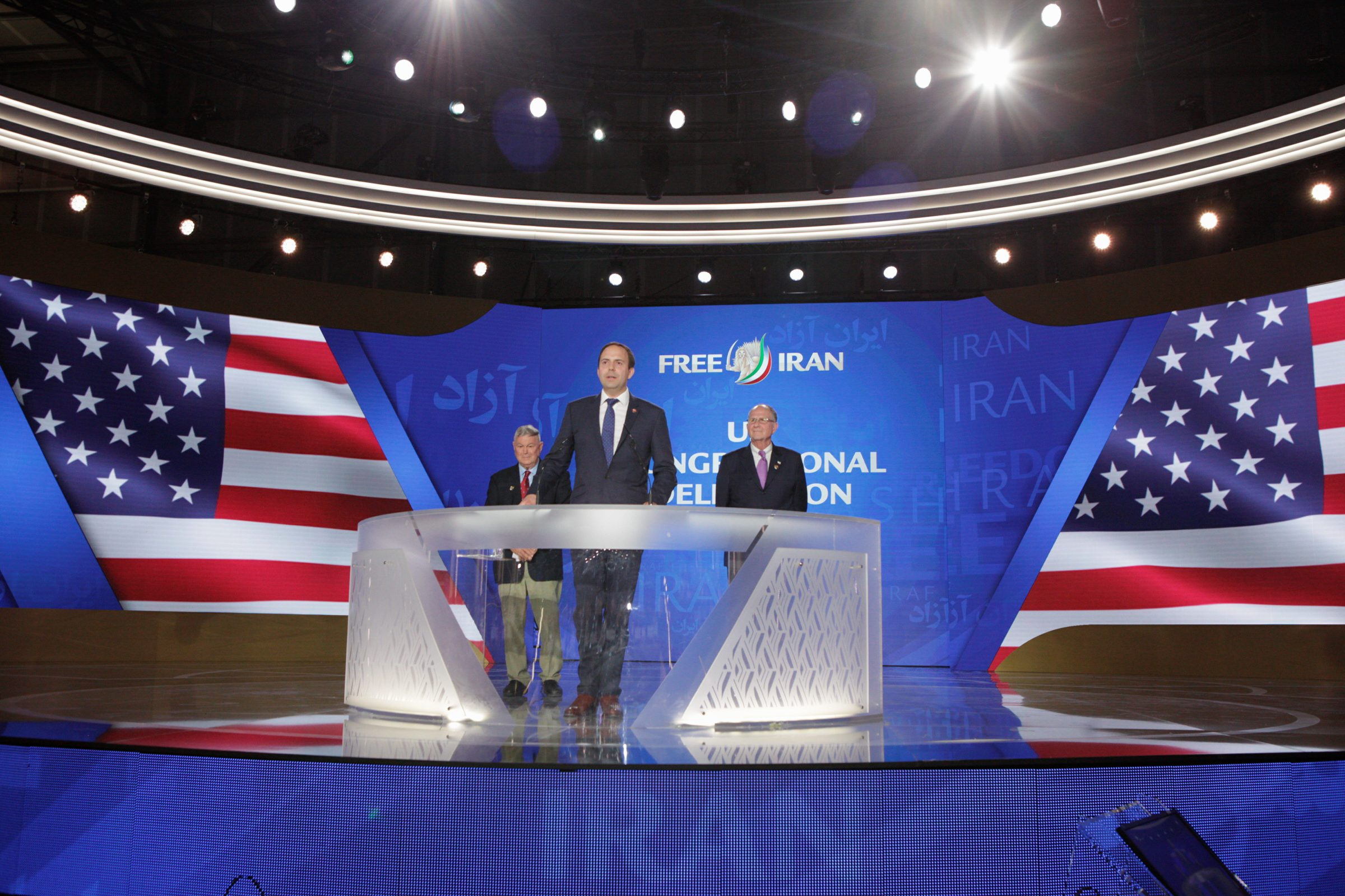 'We have to have regime change in Iran now'