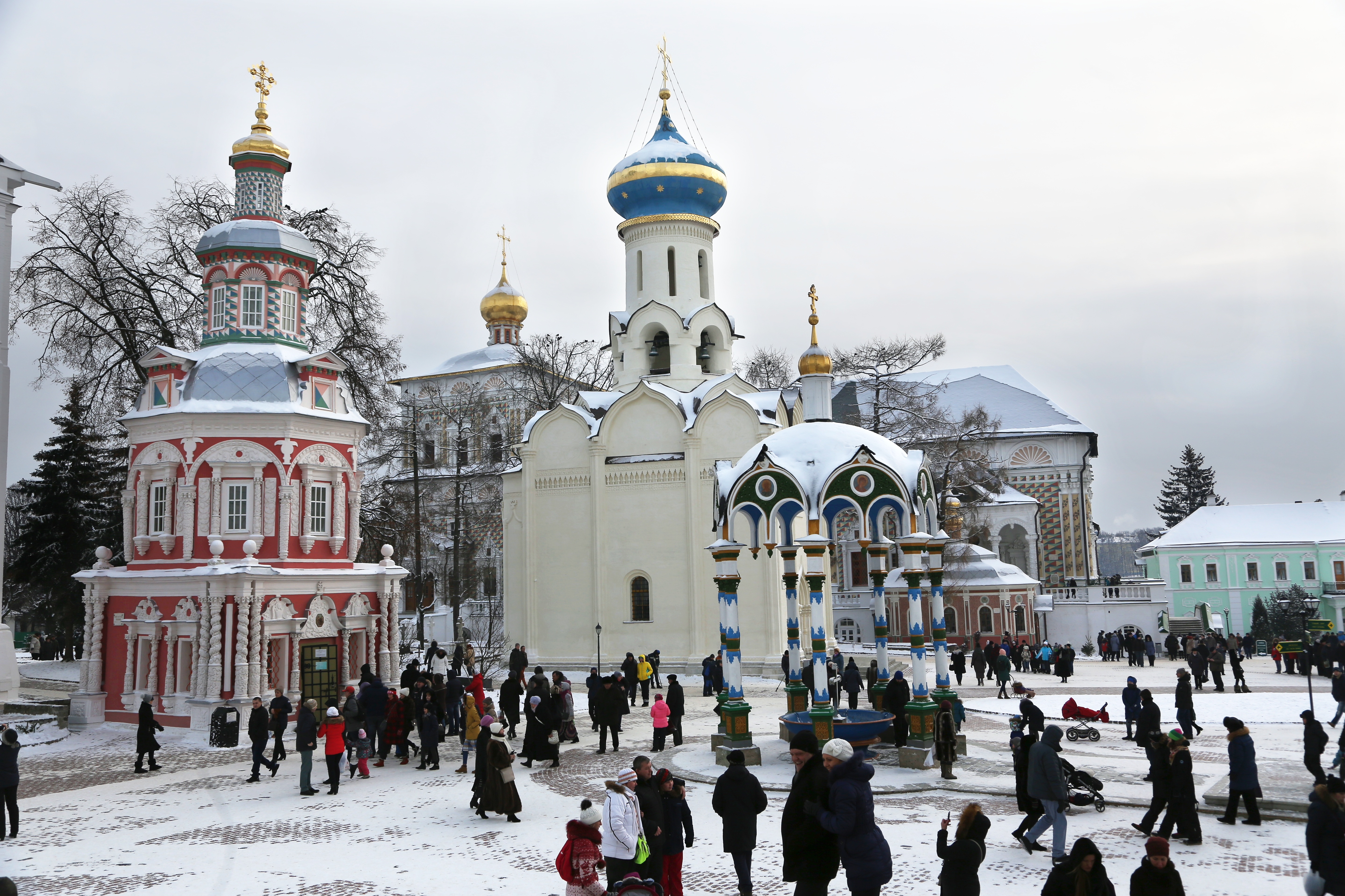Sergiev Posad project to transform town to Russian Orthodox church beacon