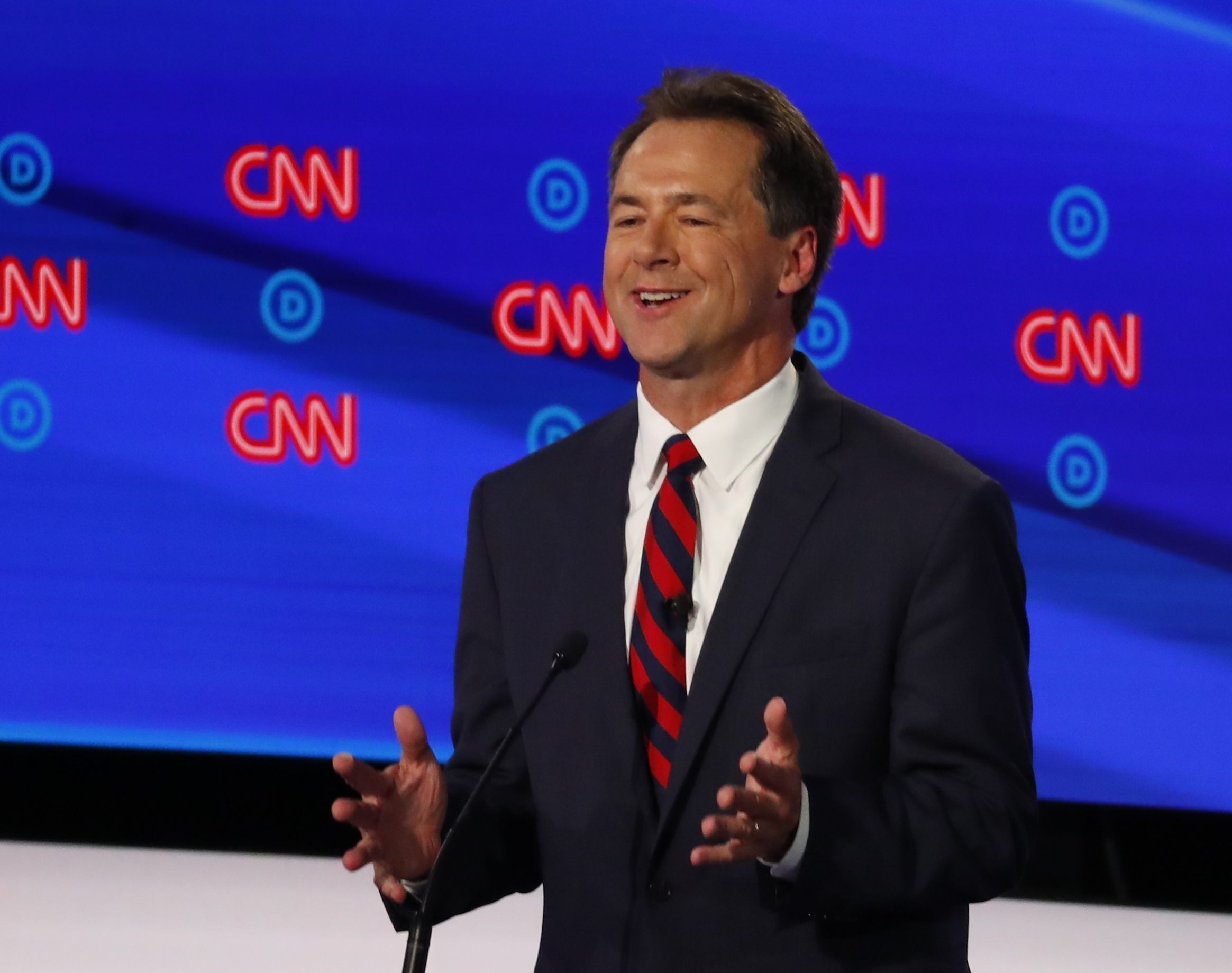 Steve Bullock buys domain mocking reports of Donald Trump seeking Greenland purchase