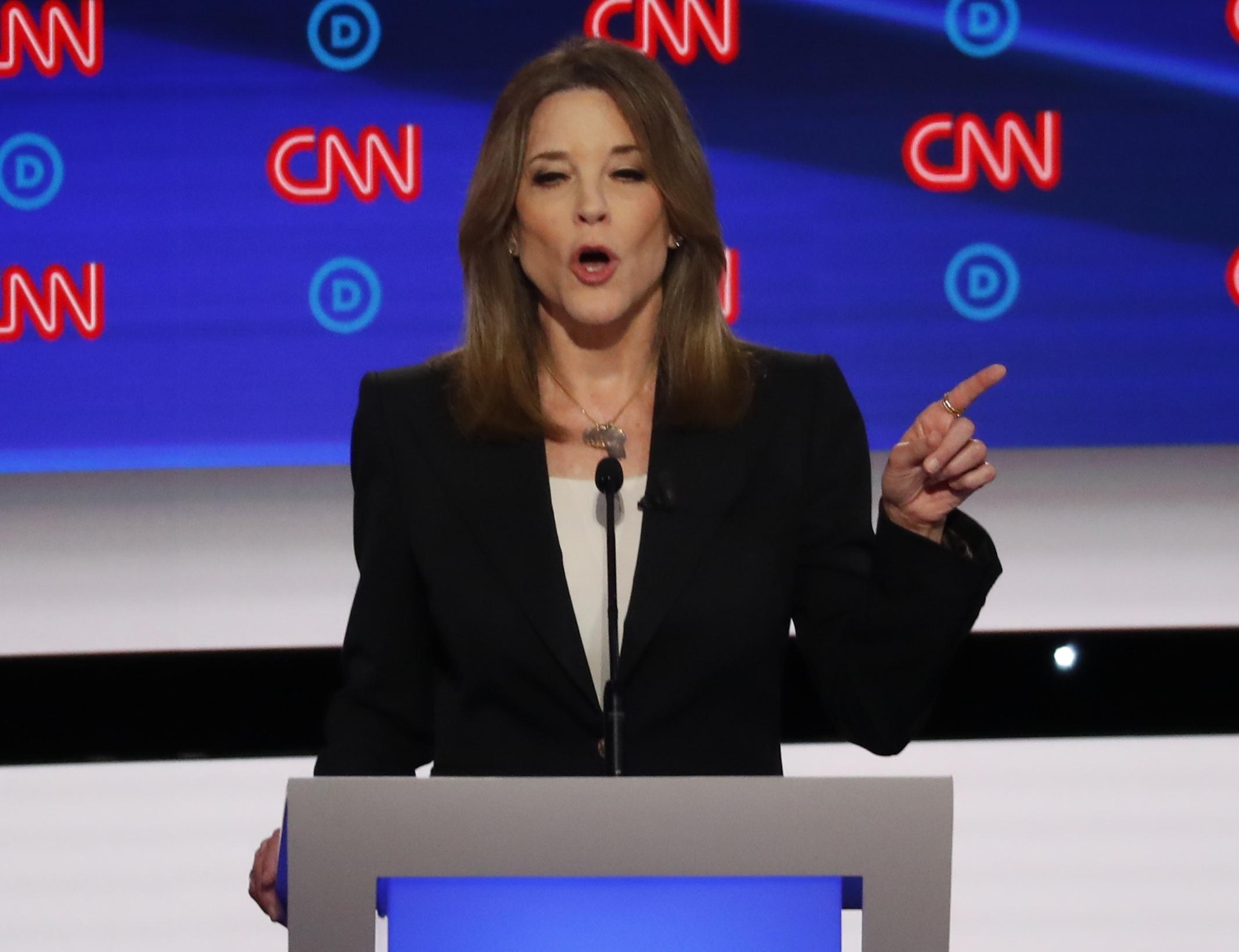 'This is amazing': Marianne Williamson winning Democratic debate, Donald Trump Jr. says