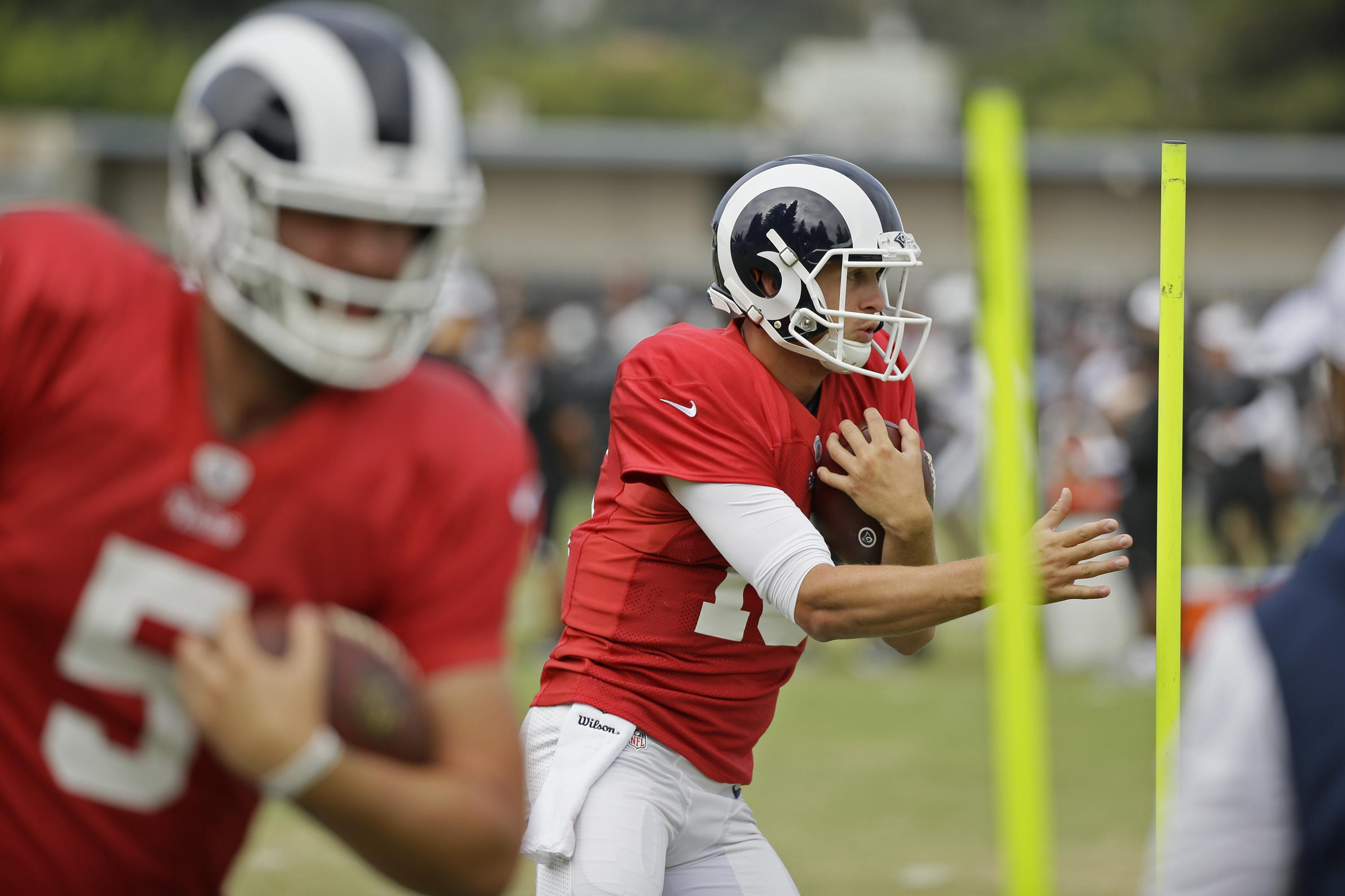 Goff happy with Rams' work in joint practice with Raiders
