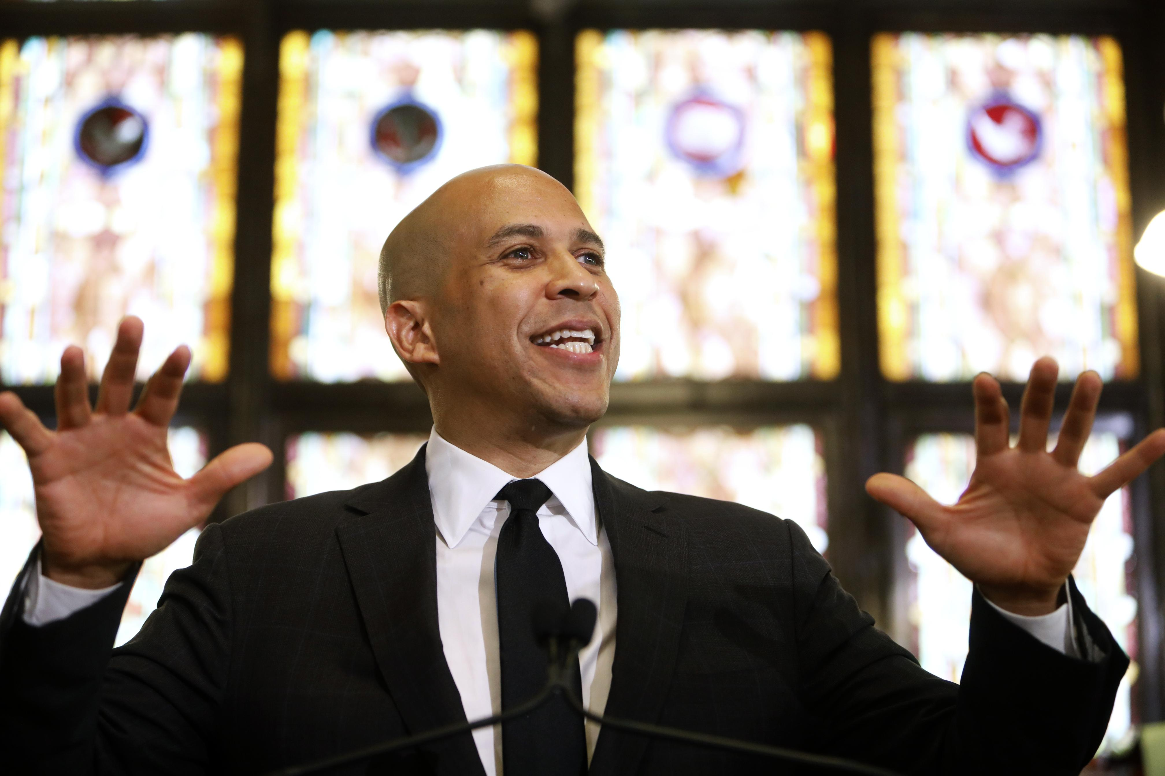 Cory Booker unveils plan to combat hate crimes, white supremacist viol