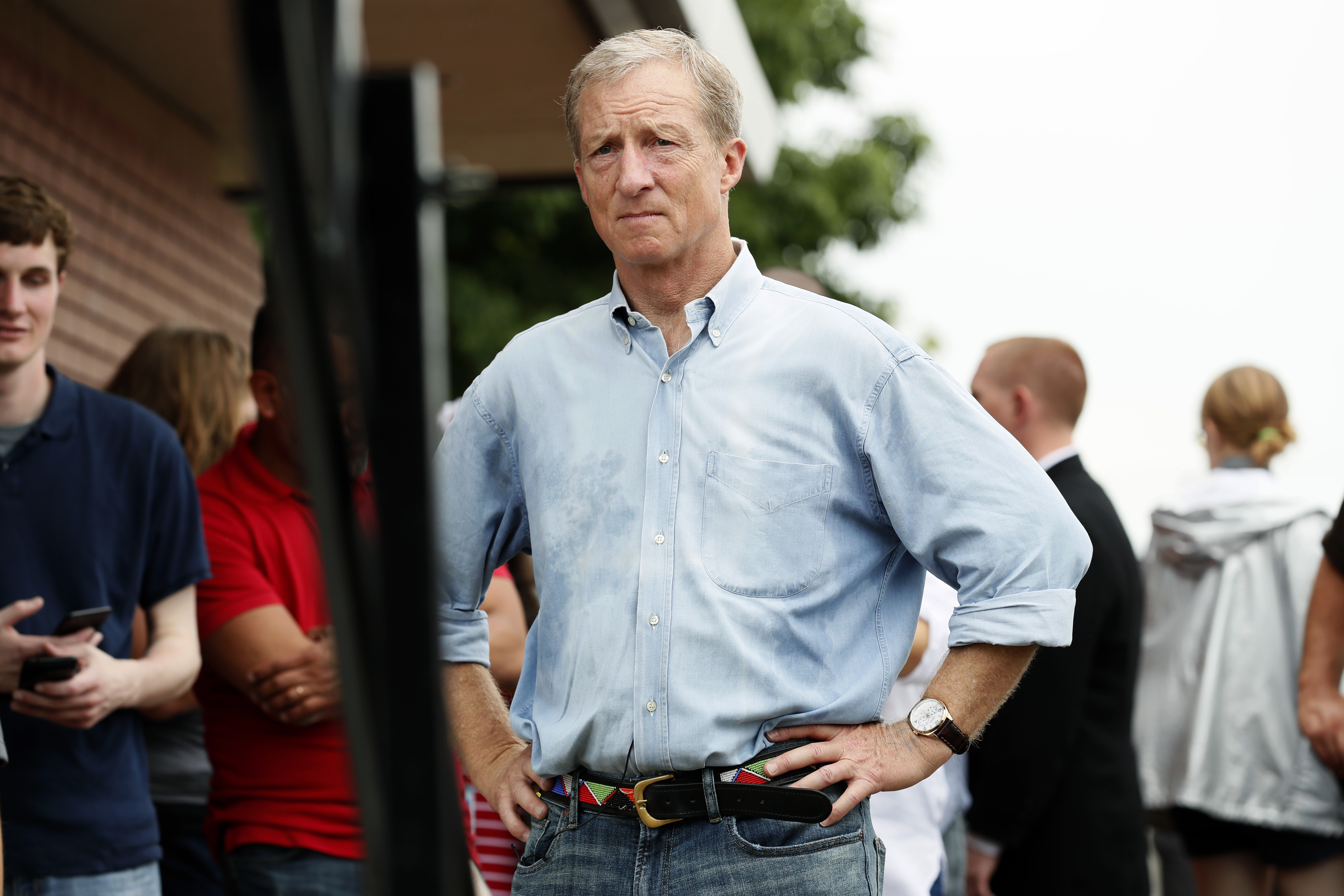 Tom Steyer leaves campaign trail for San Francisco jury duty