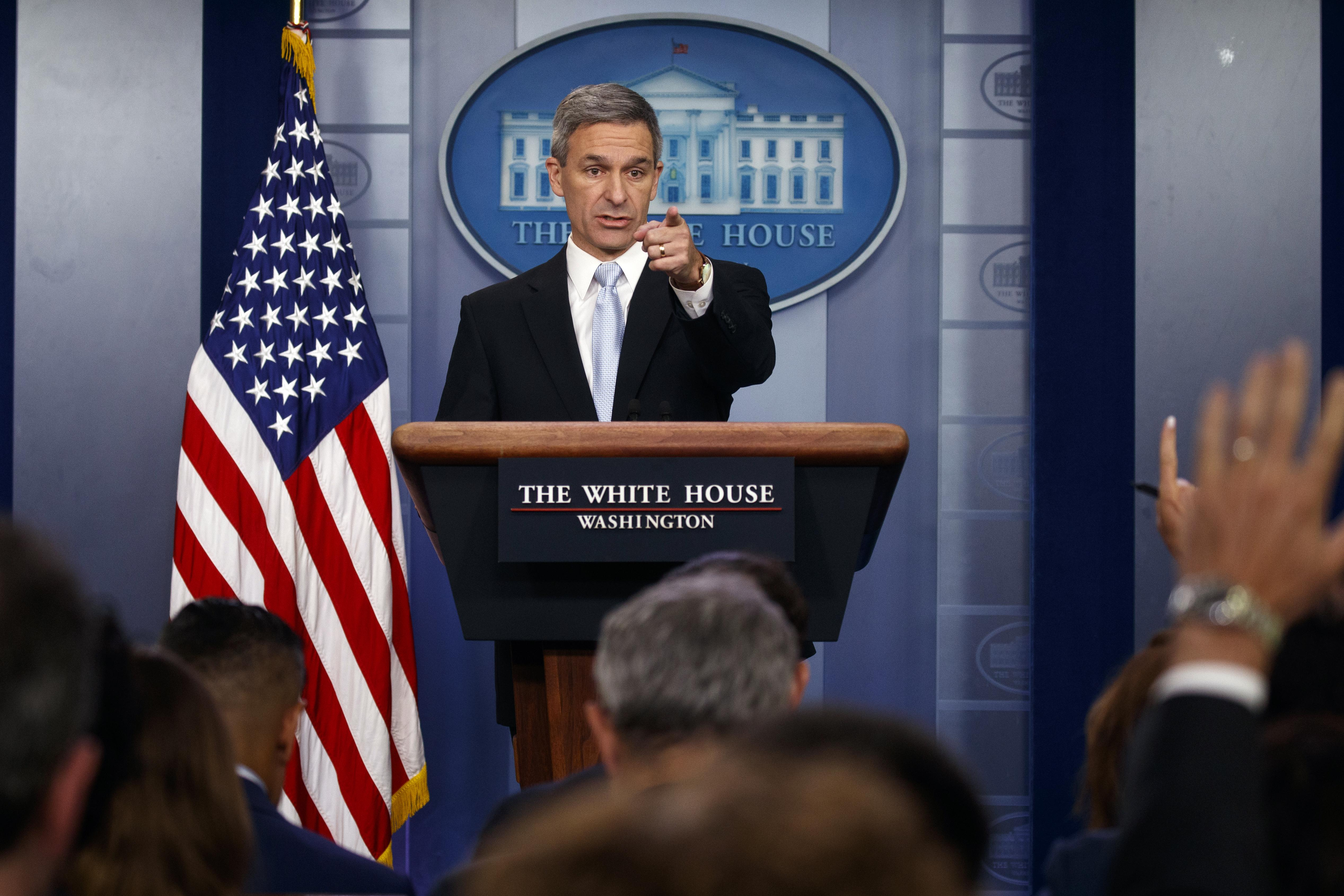 Ken Cuccinelli backed for Homeland Security chief by high-profile conservatives