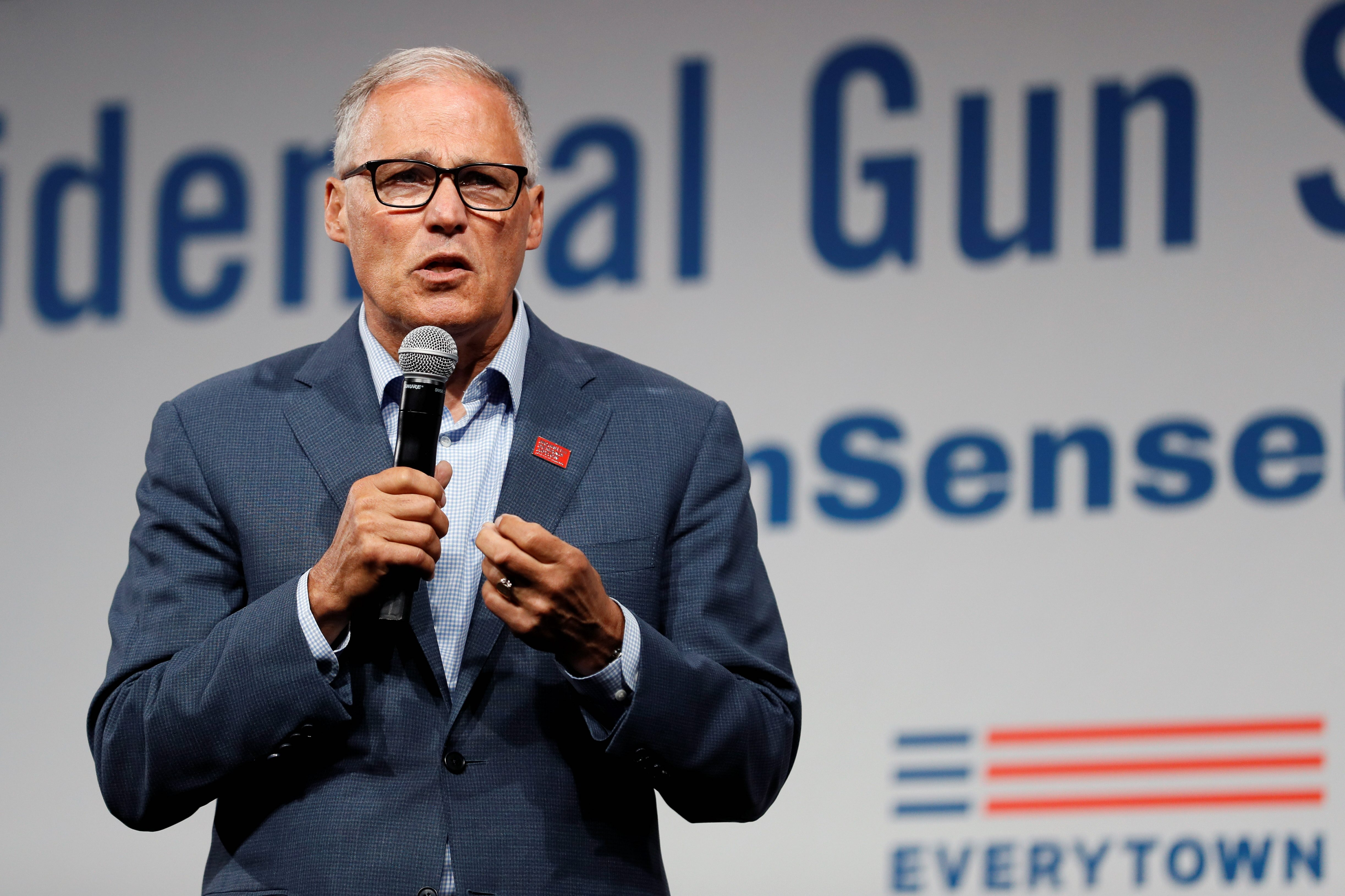 Jay Inslee nearing donor threshold to qualify for third presidential d