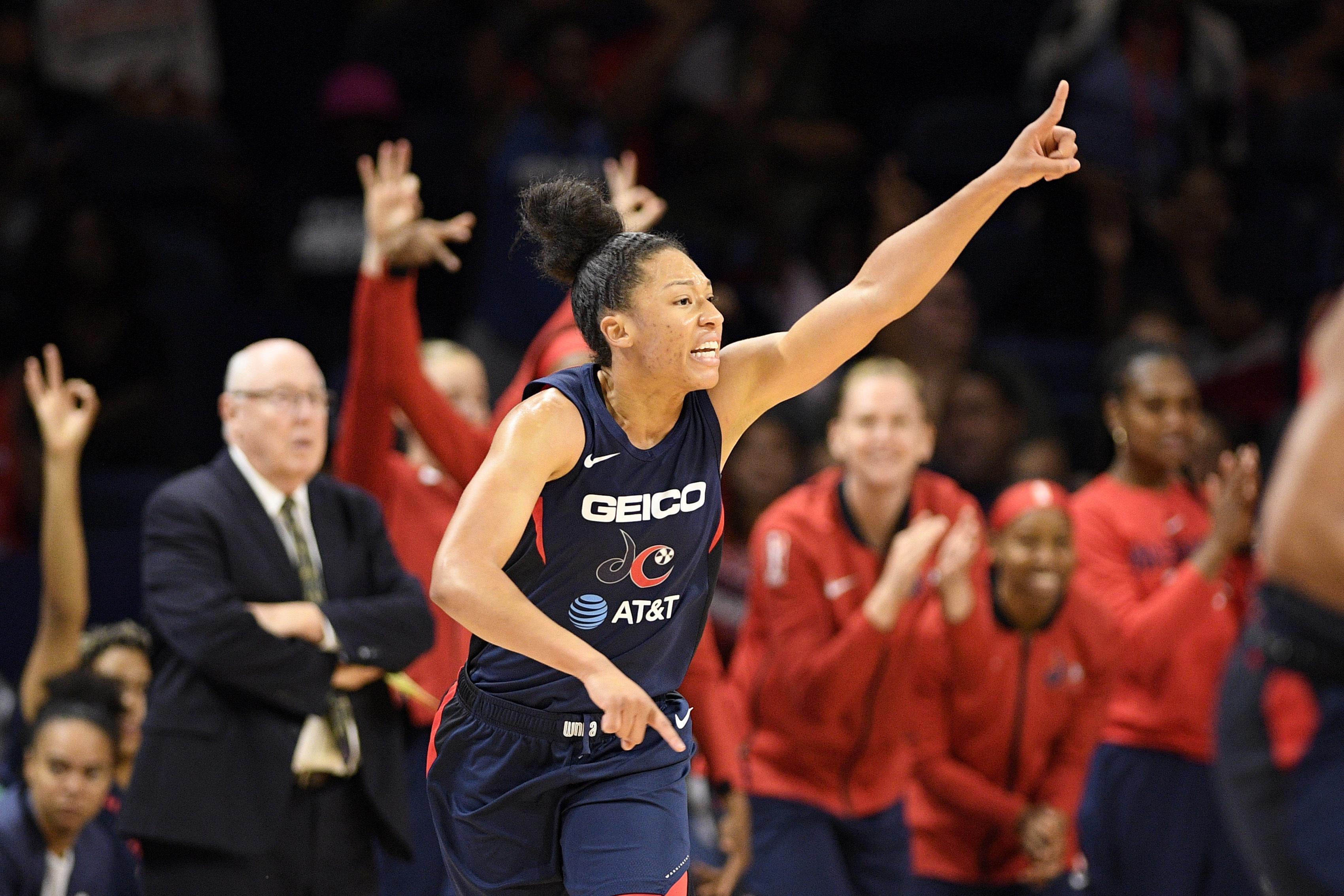 Washington Mystics are big favorites to win WNBA title