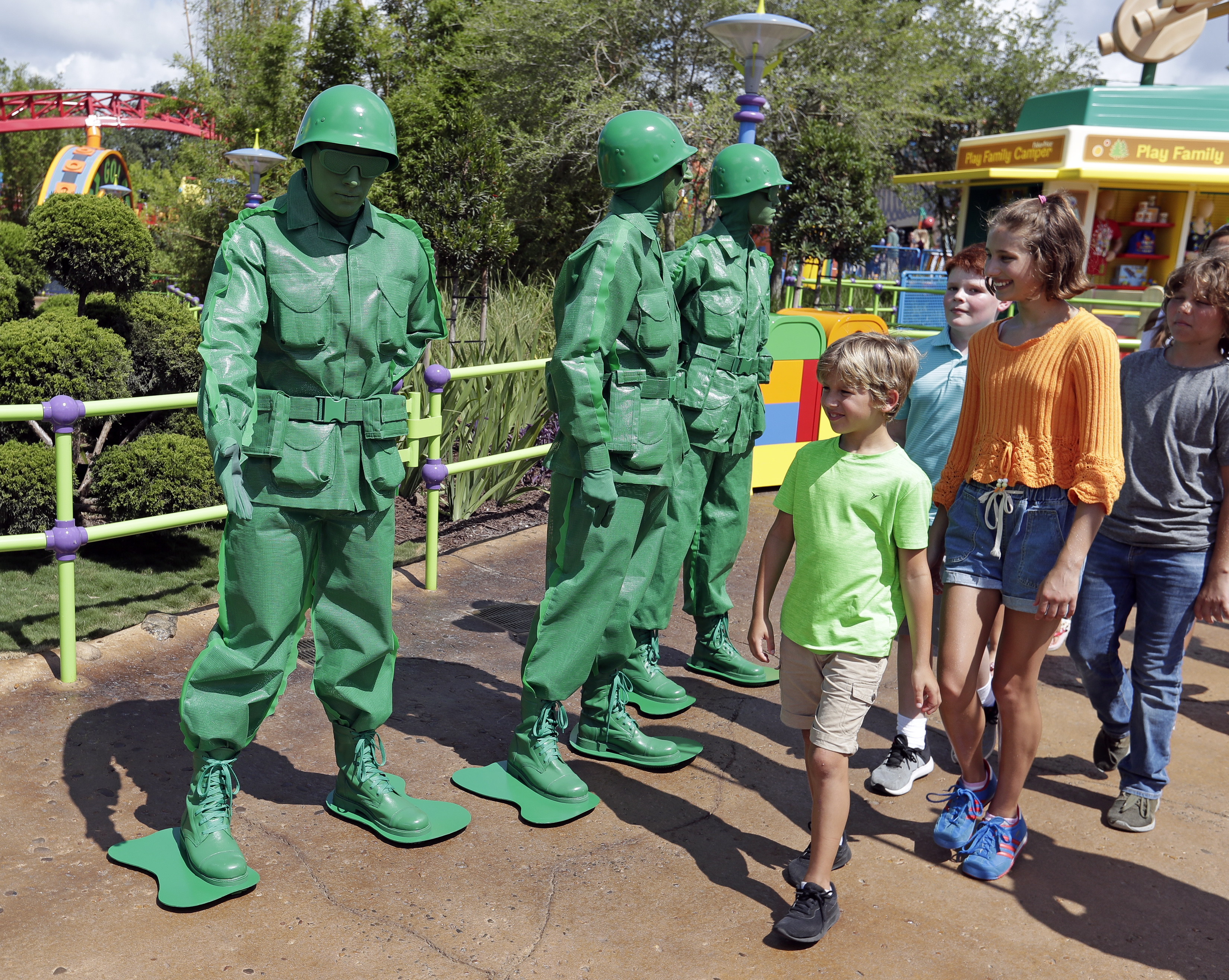 Arkansas girl jump-starts campaign for female plastic toy soldiers