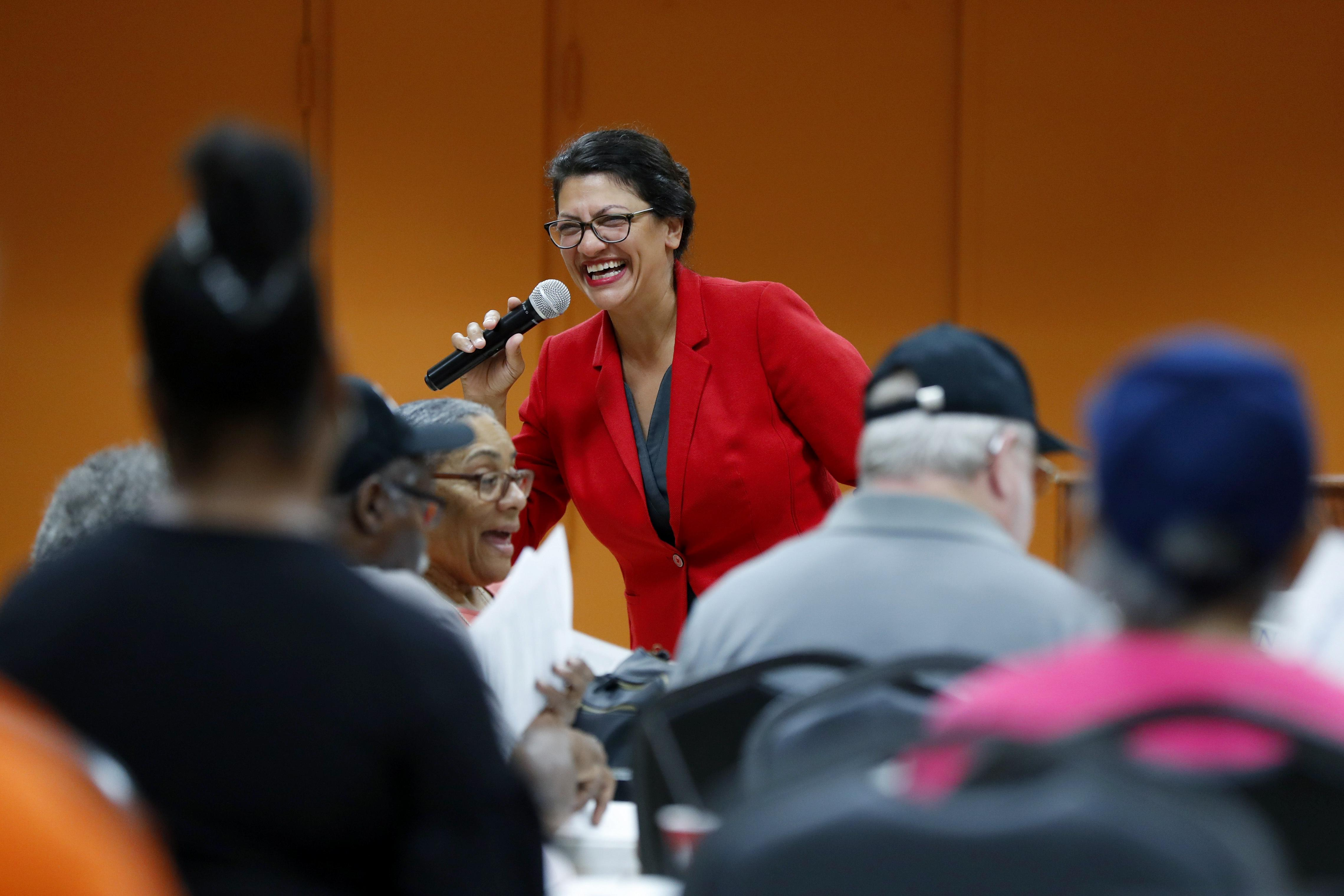 Rashida Tlaib, a troublemaker who's scoring BDS points