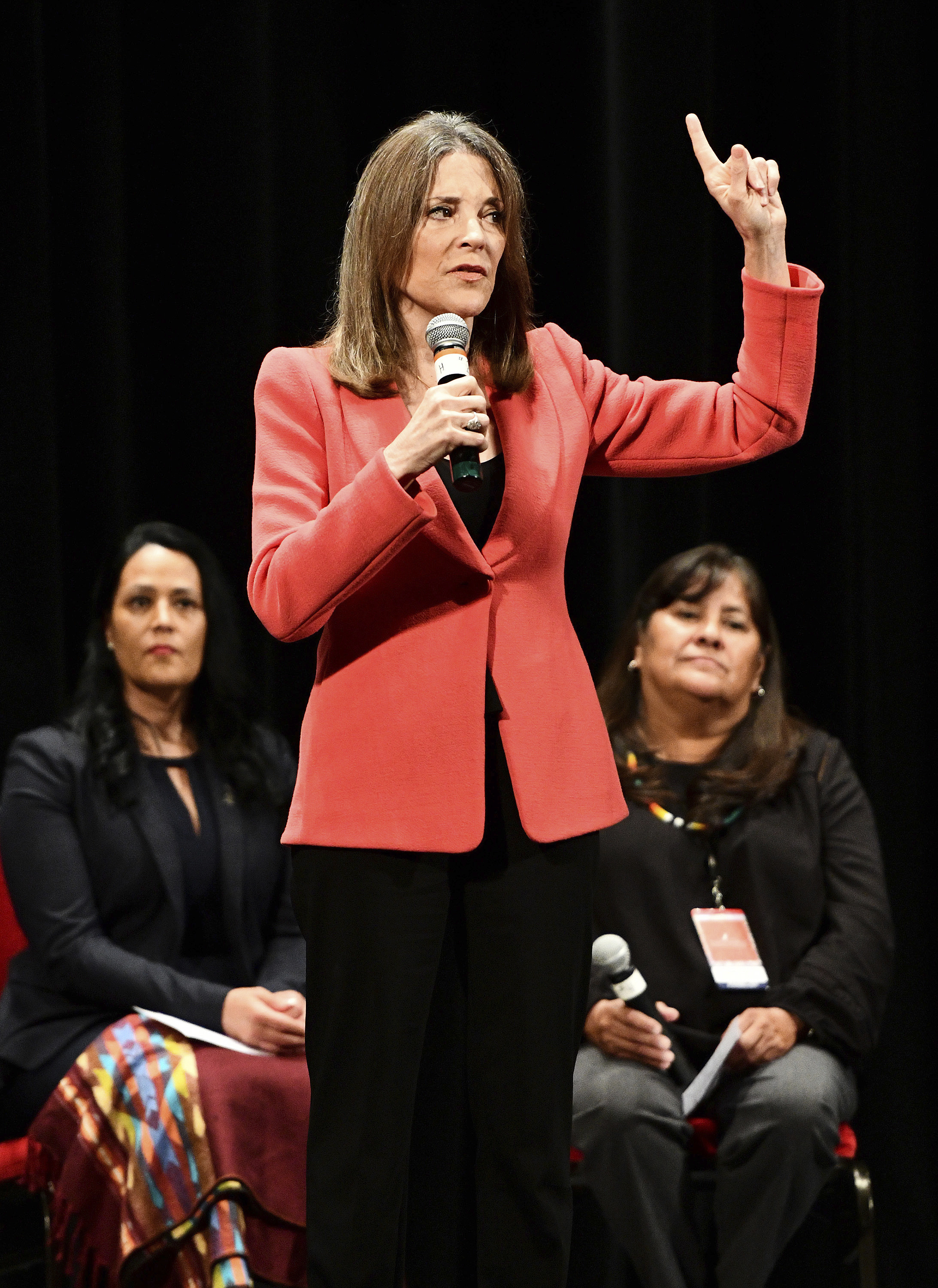 Marianne Williamson proposes new Department of Peace: 'We can no longer rely on force'