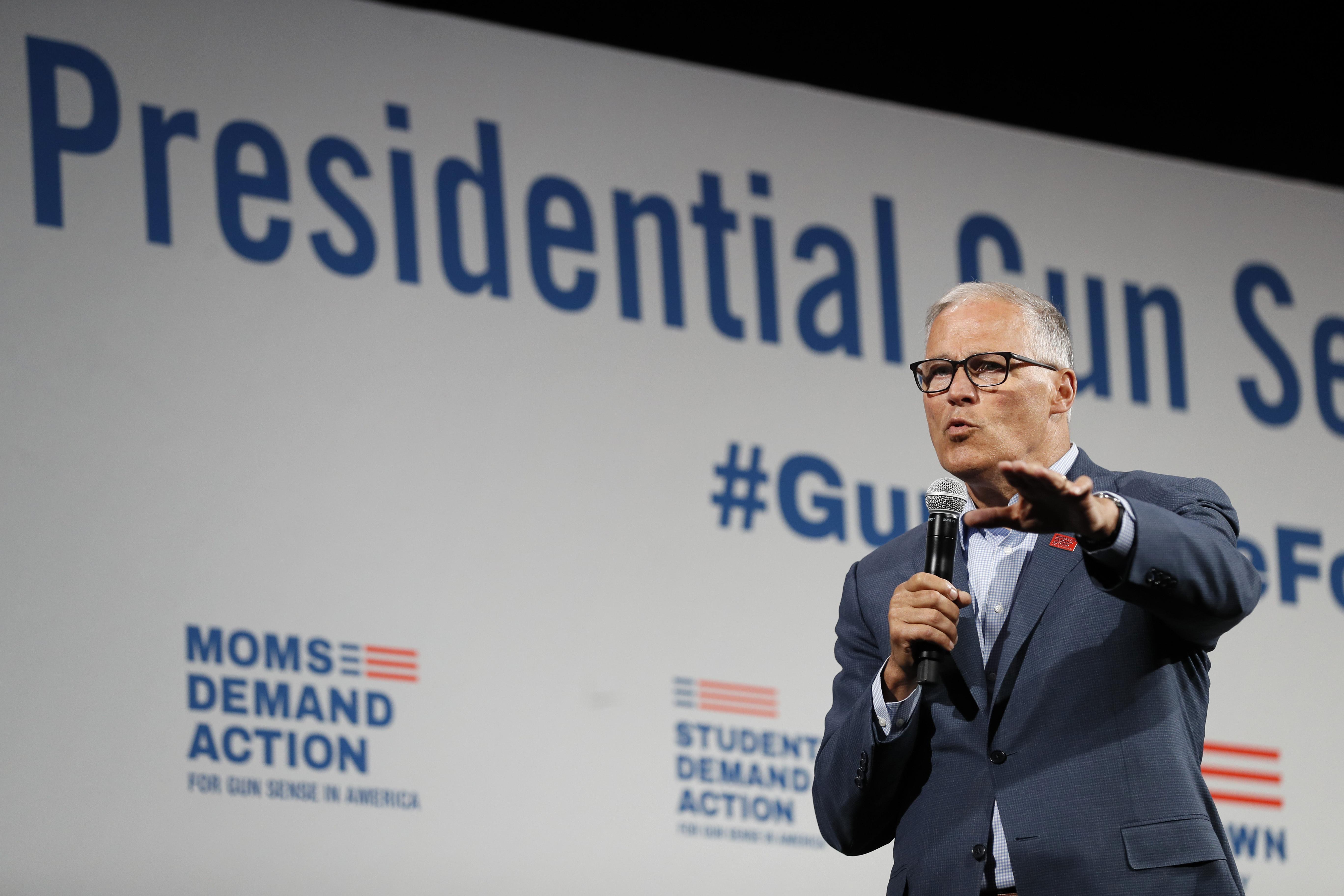 Jay Inslee ends 2020 Democratic presidential bid
