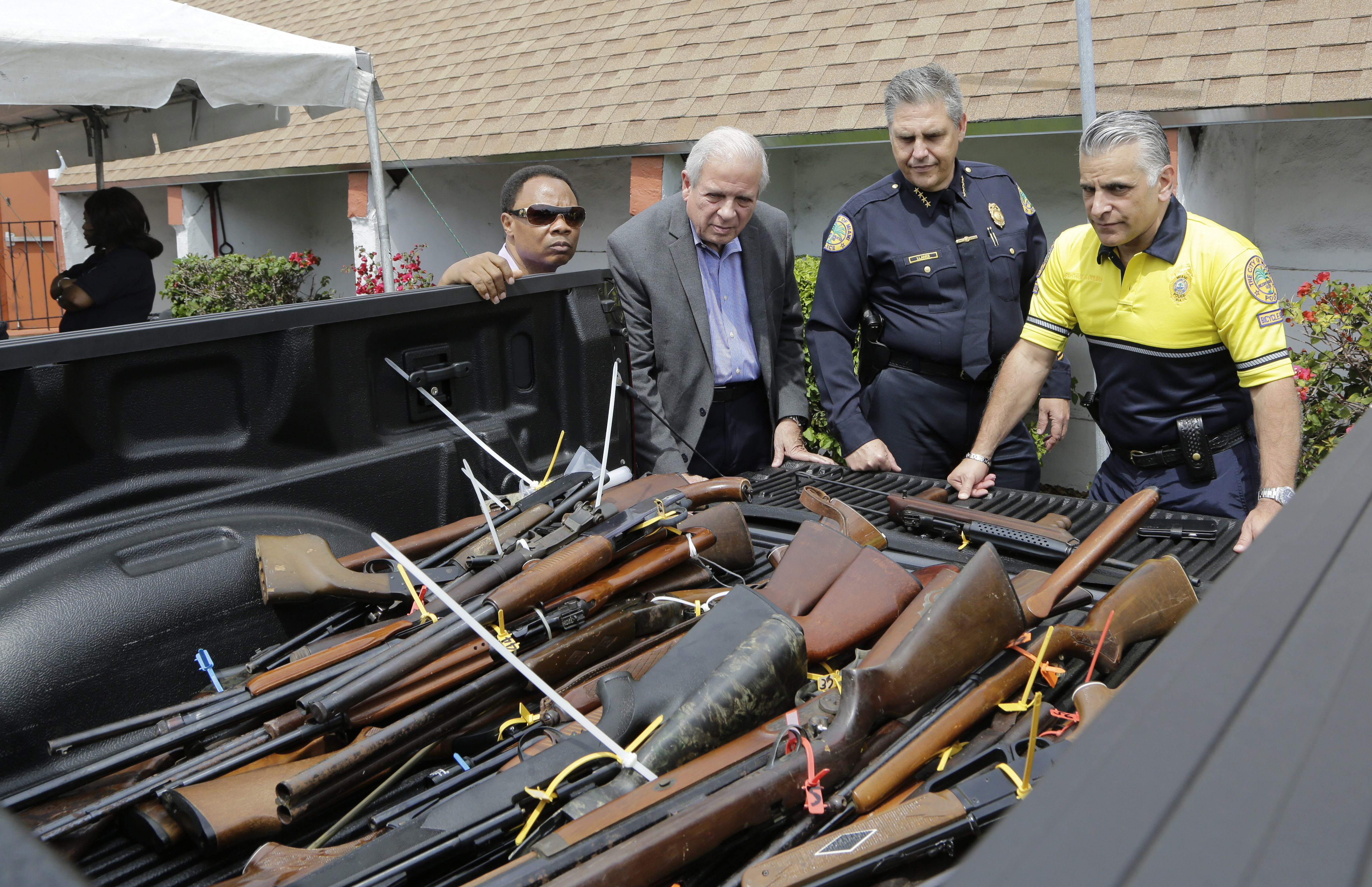 'Perception of action': U.S. wrestles with gun buybacks after mass shootings