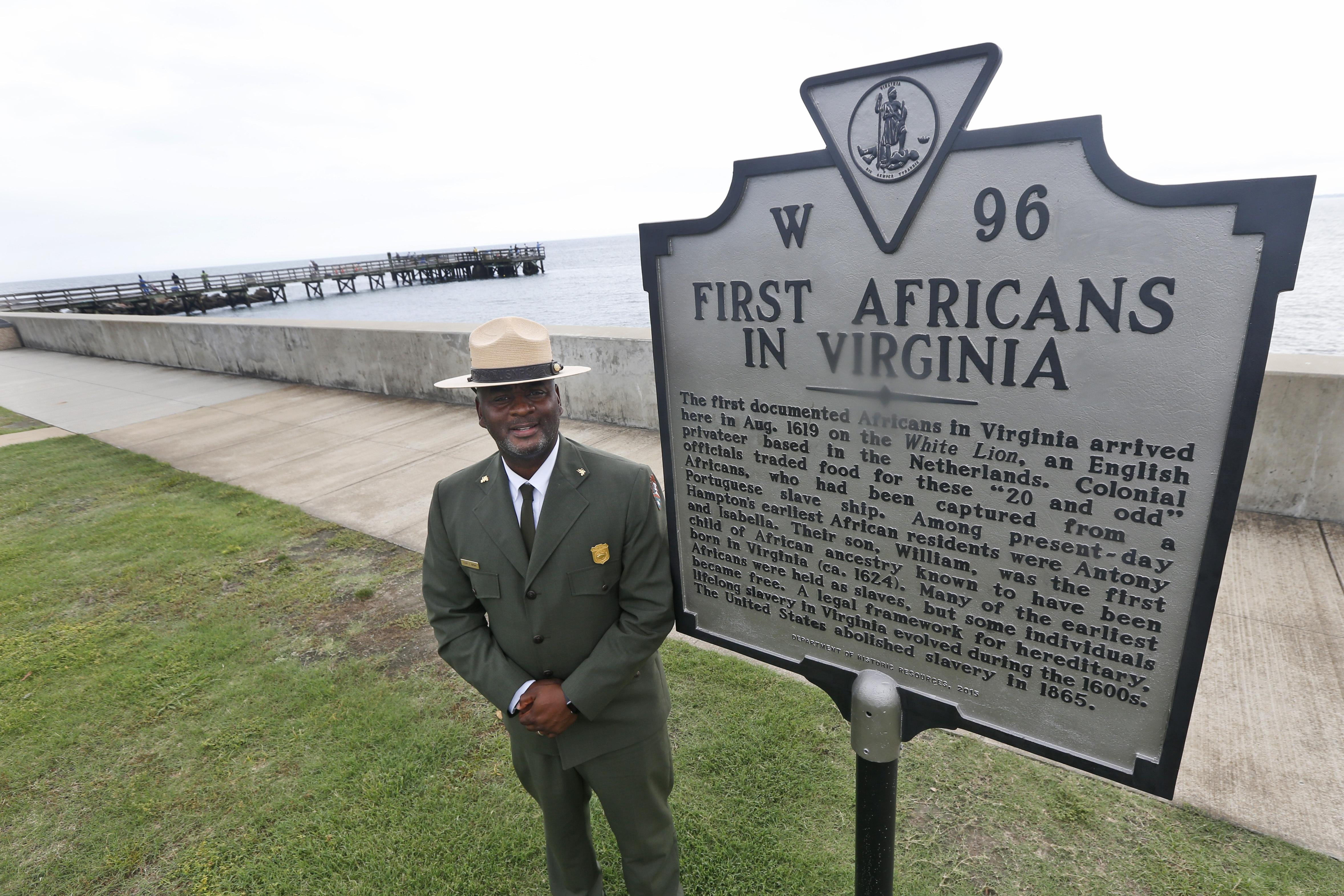 Poet, politicians to mark first enslaved Africans' arrival