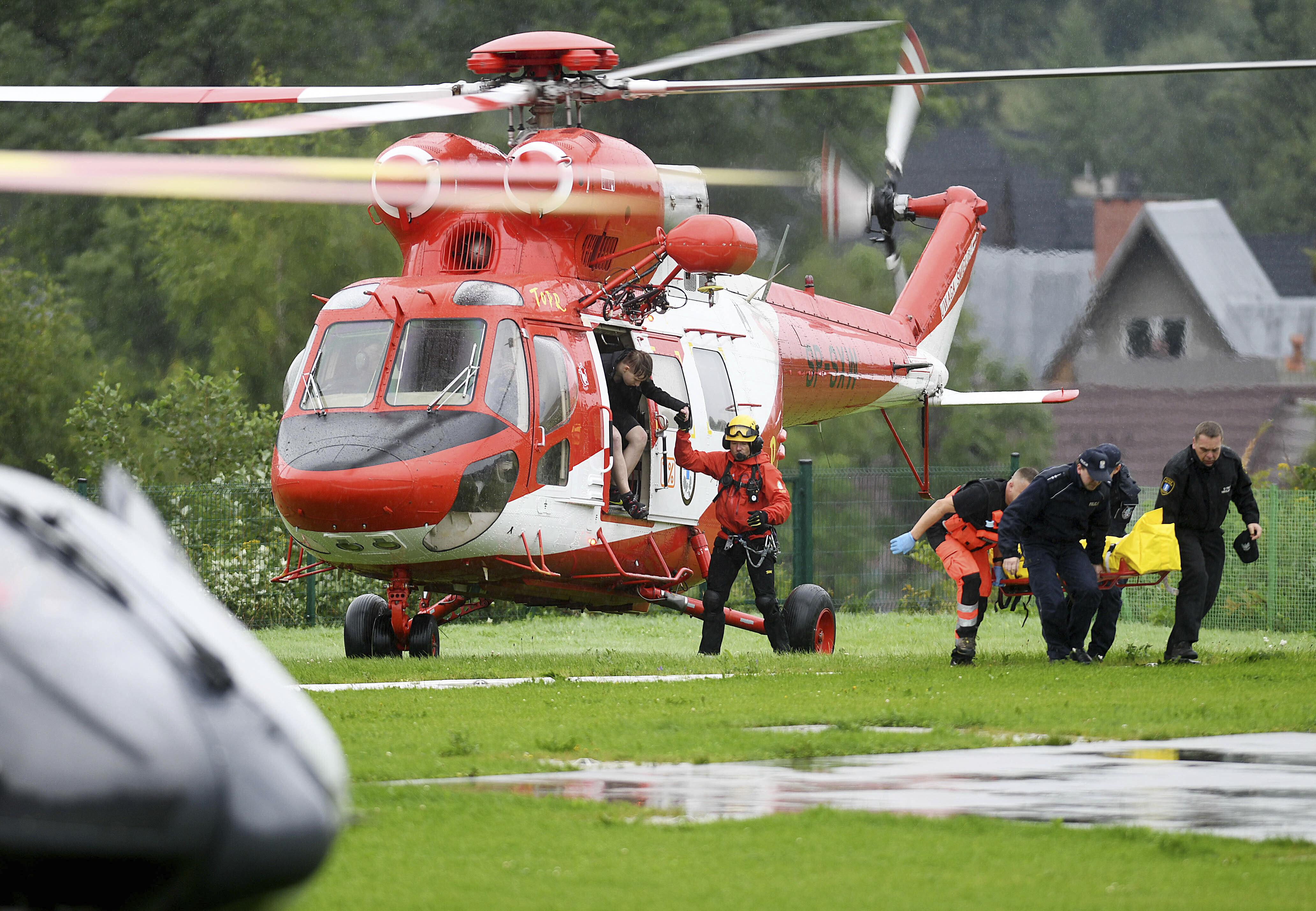 Poland searches for 5 missing after deadly lightning storm