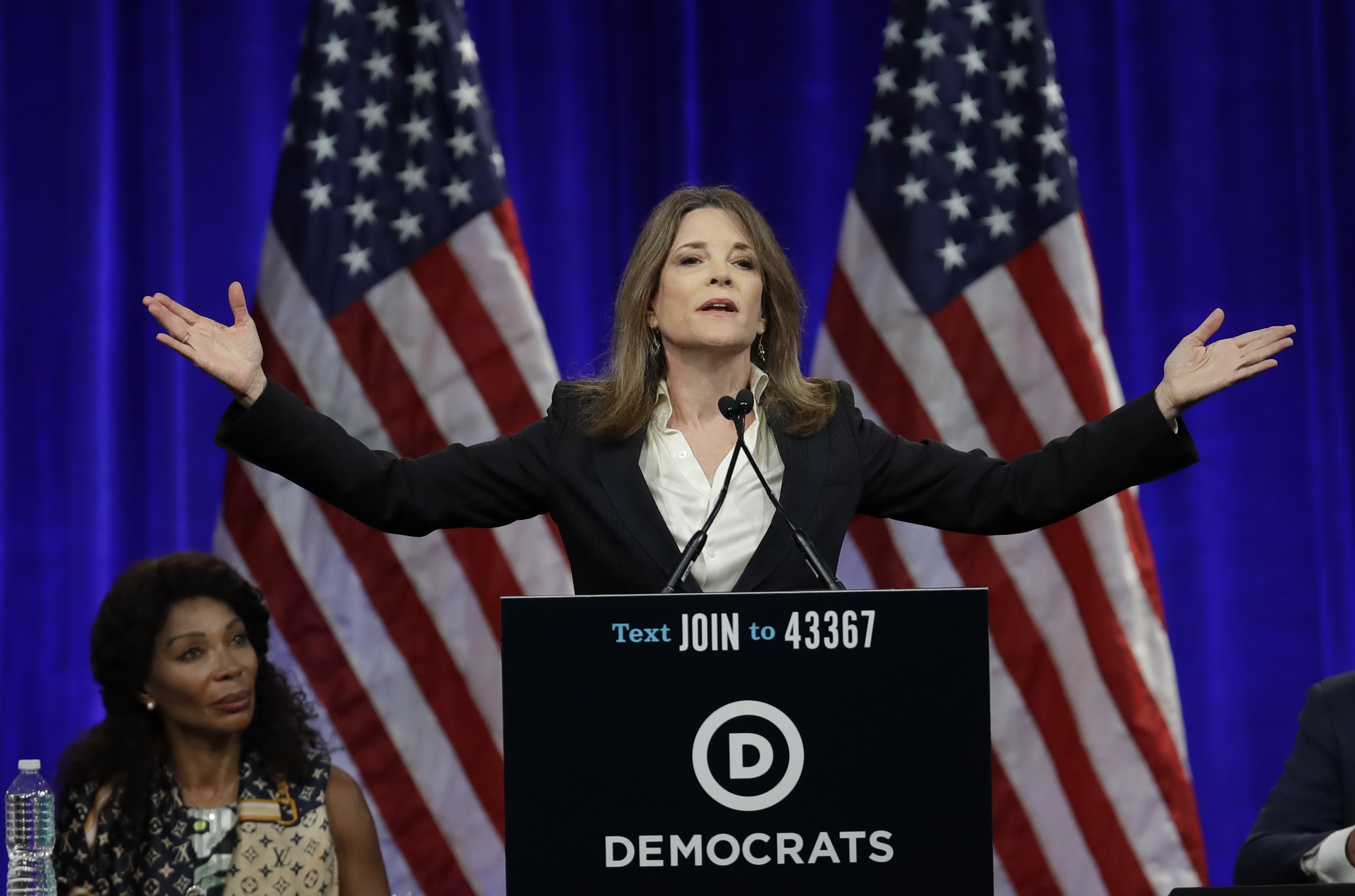 2020 candidate Marianne Williamson: 'I didn't think the left was so mean'