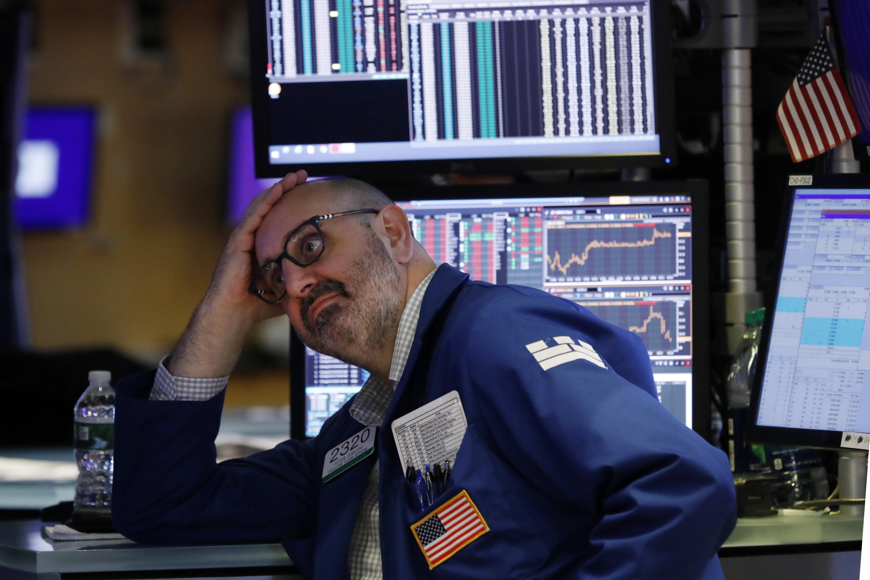Stocks nosedive as Trump, China escalate trade tensions