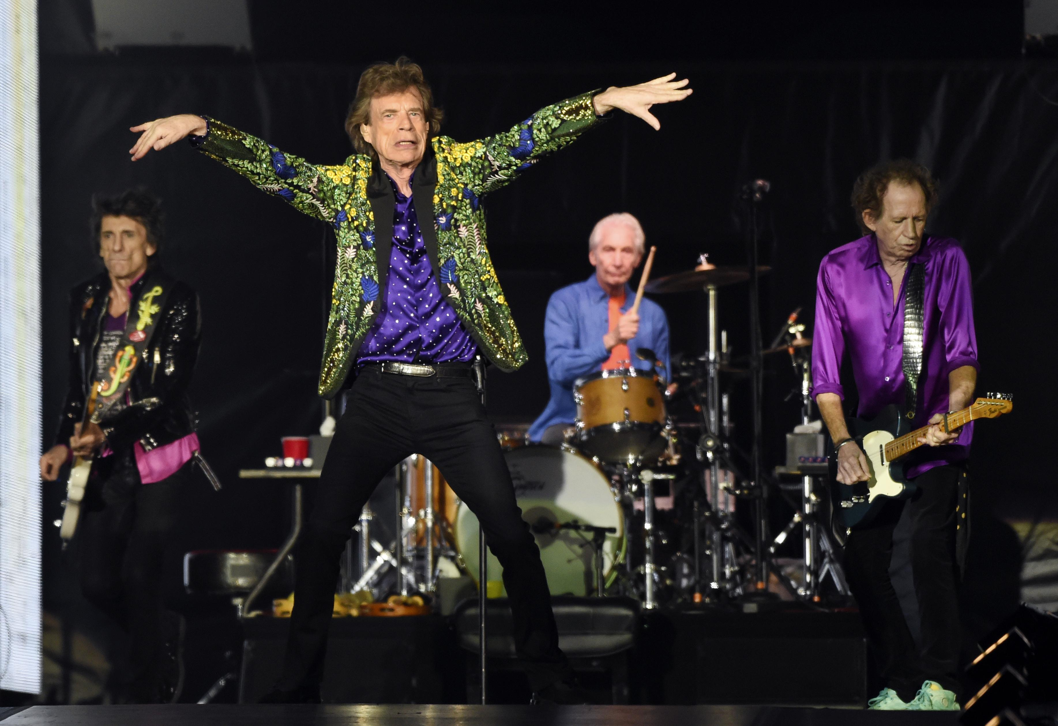 Rolling Stones get a little piece of Mars to call their own