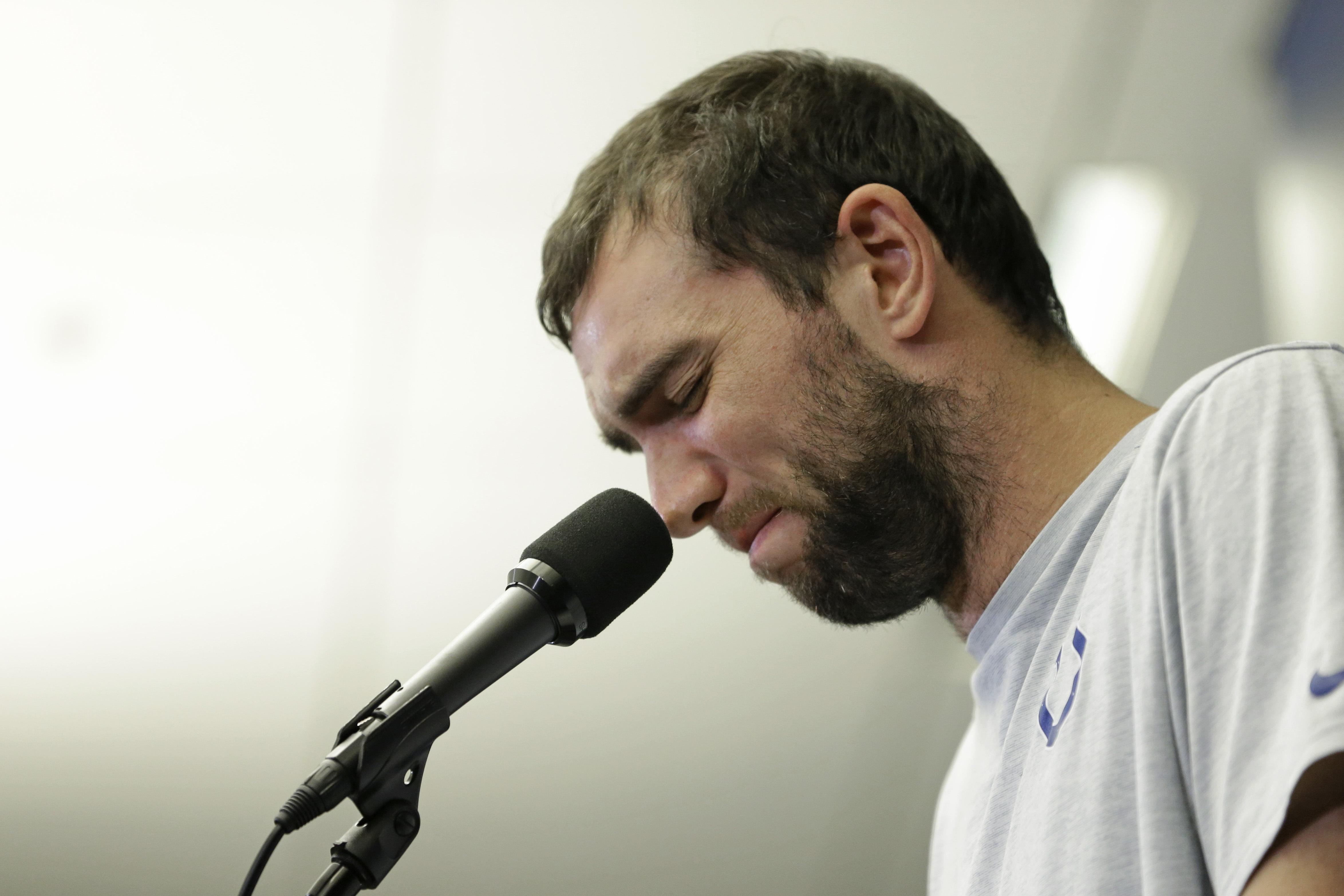 Andrew Luck 'hurt' over booing from Colts fans following surprise retirement
