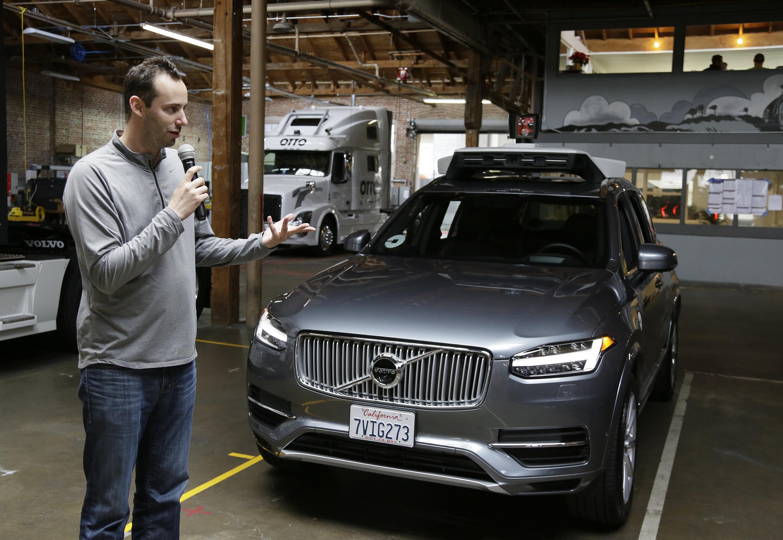 Anthony Scott Levandowski, former Google exec, charged with stealing secrets for Uber