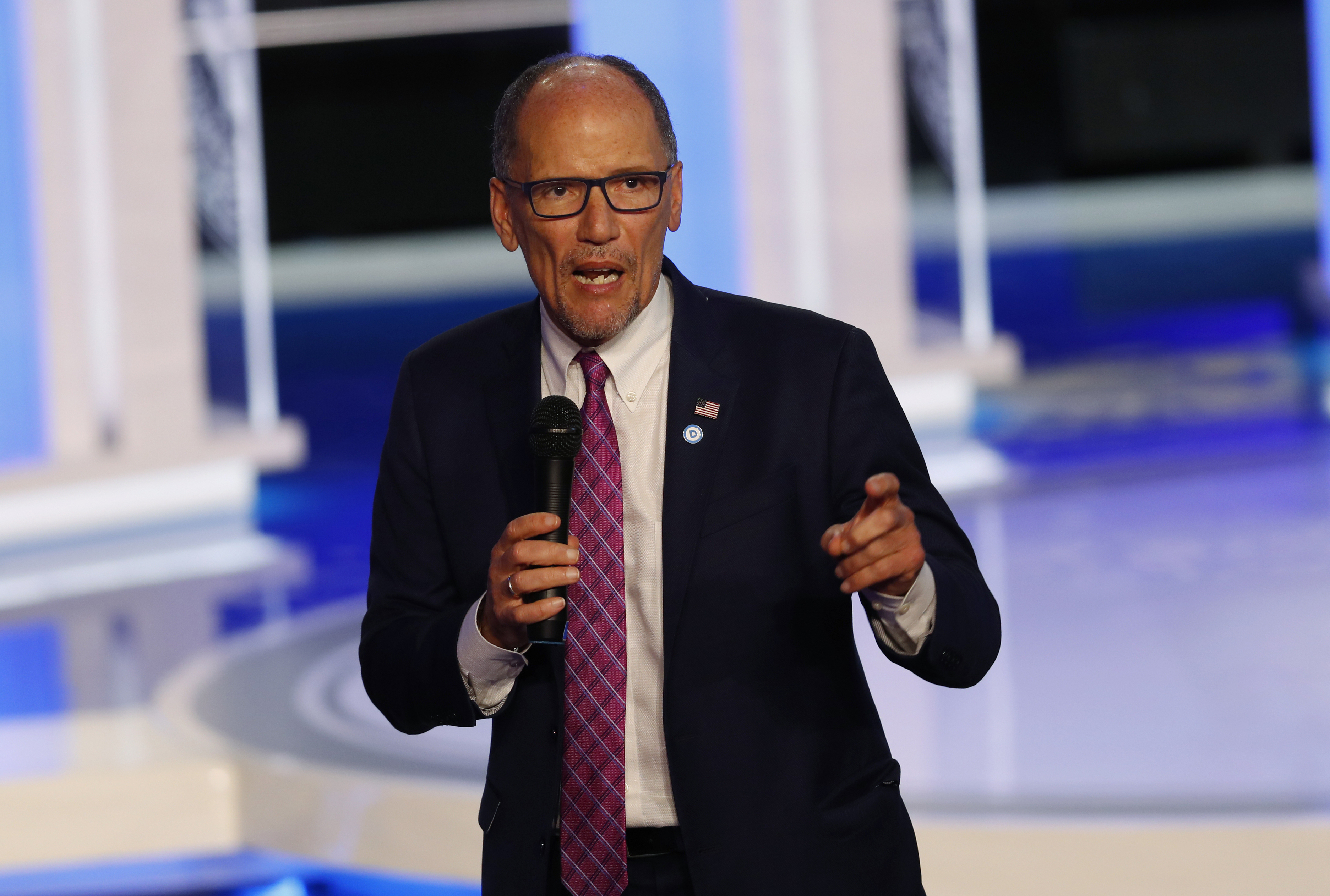 Tom Perez: Not DNC's job to provide air cover for Biden, 2020 candidates