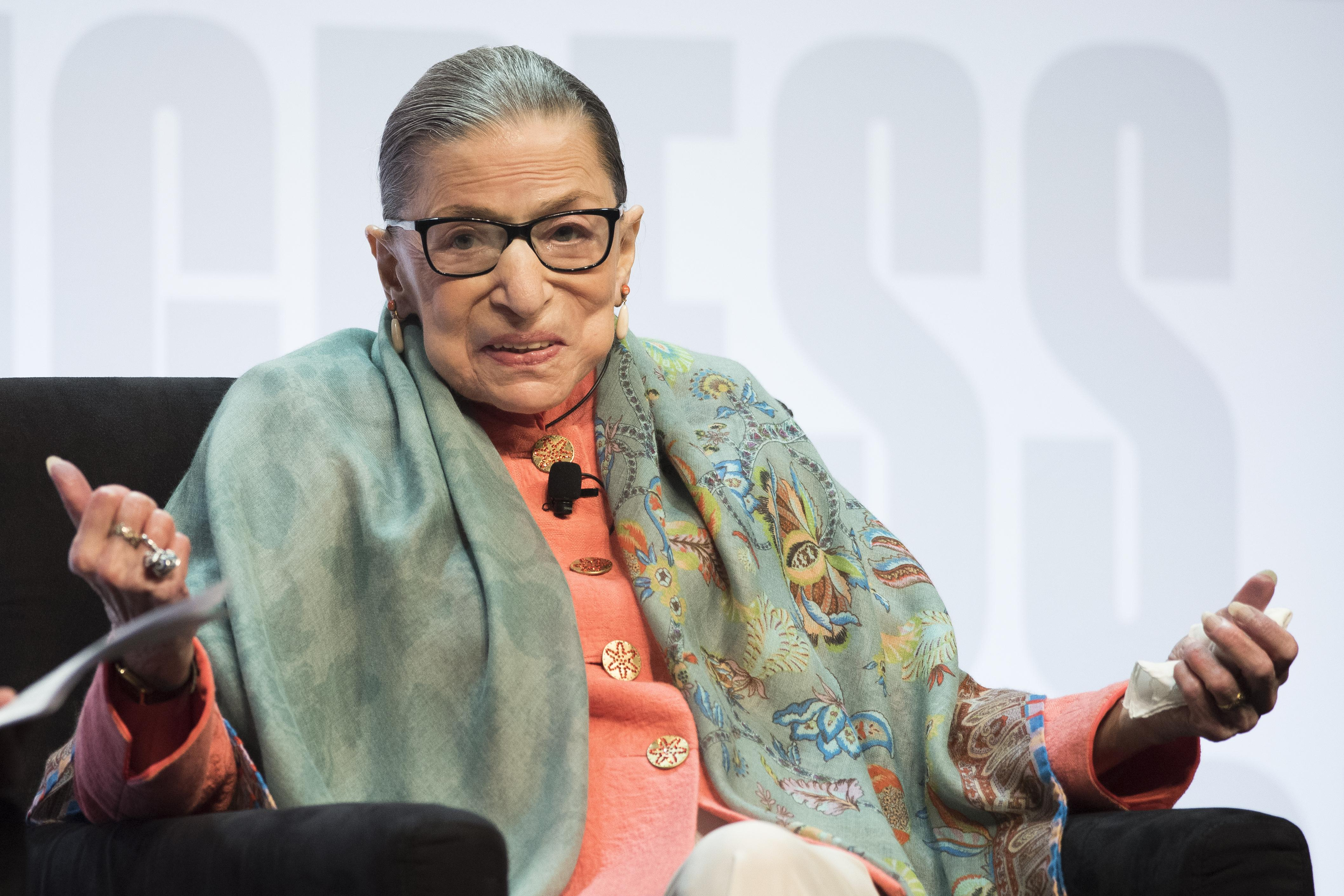 Supreme Court Justice Ginsburg: 'On my way' to being 'very well' after radiation threatment