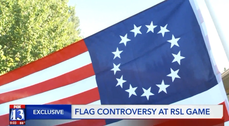 Major League Soccer club bans 'controversial' Betsy Ross flag at games
