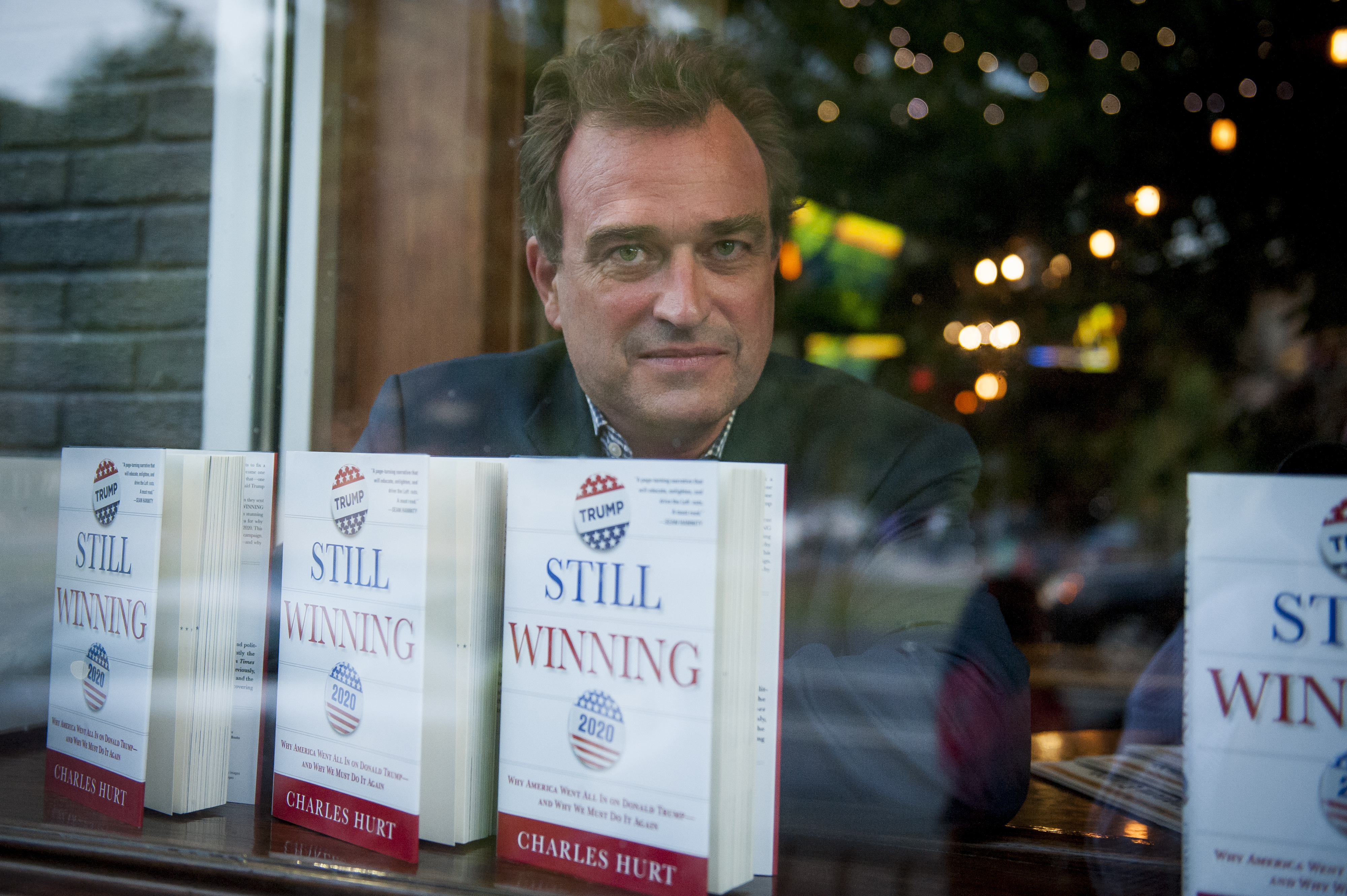 Washington Times editor Charles Hurt explains why to vote for Trump in new book 'Still Winning'