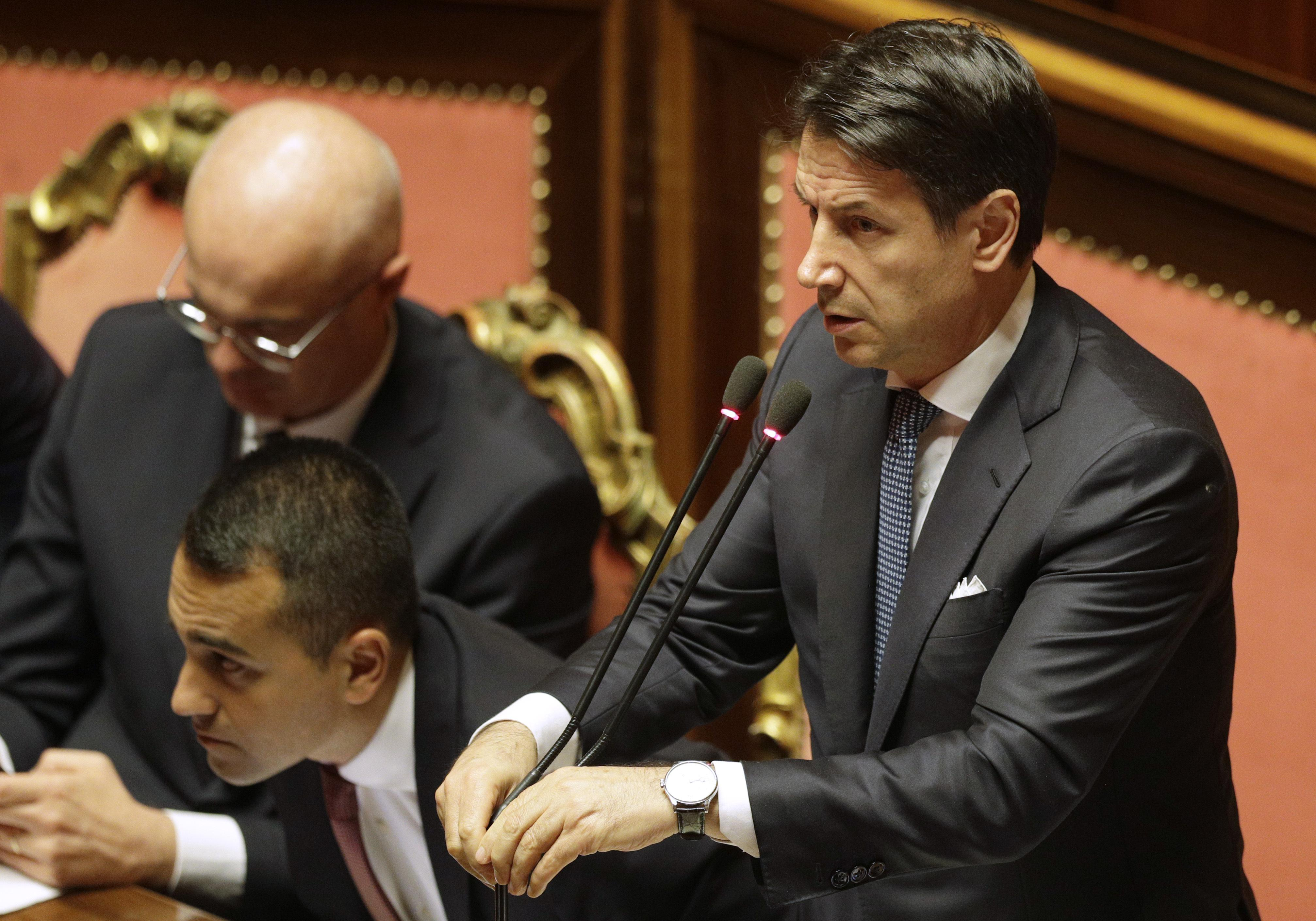 The Latest: Italy's new pro-Europe govt wins confidence vote