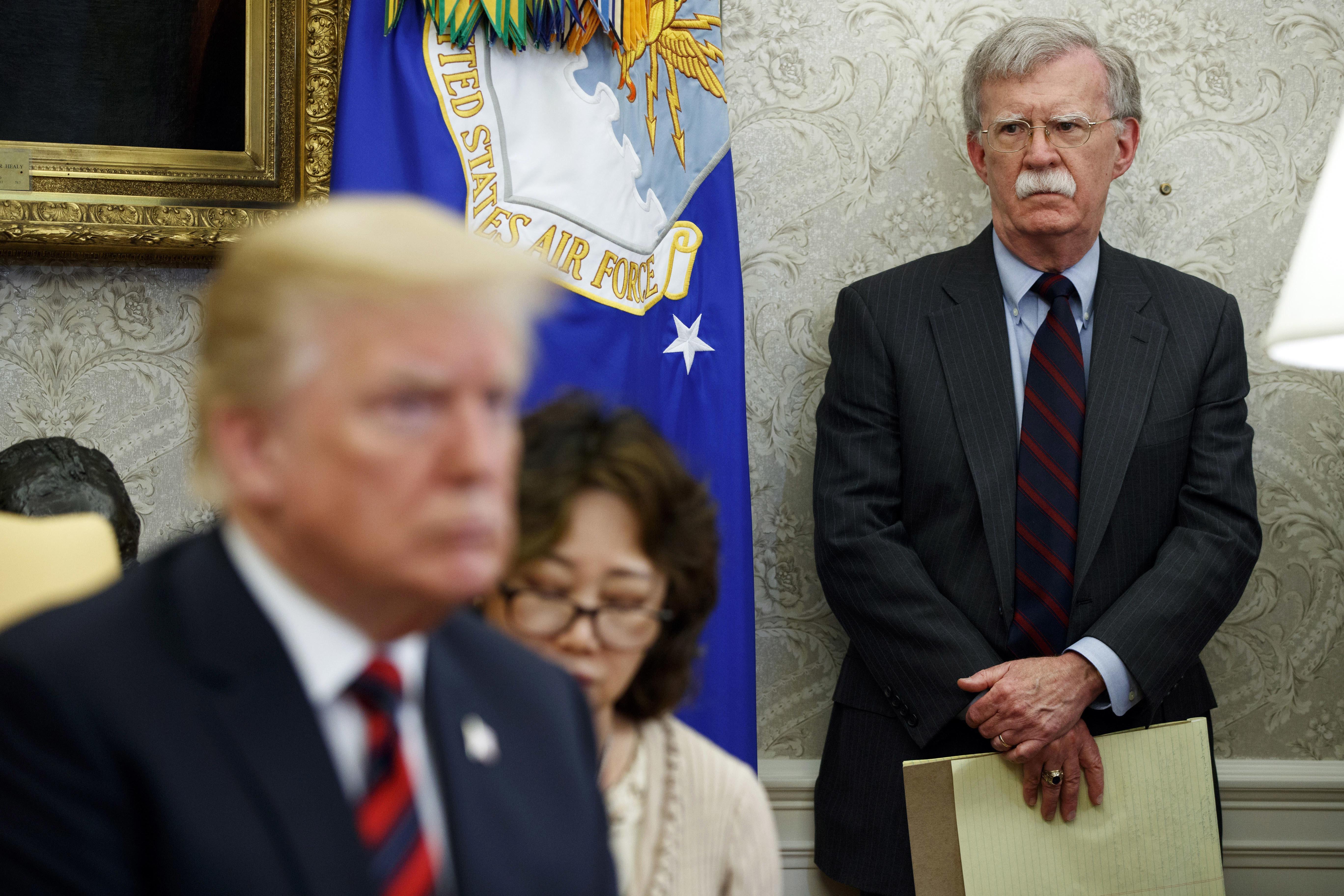 Donald Trump denies reported Bolton account of Ukraine quid pro quo