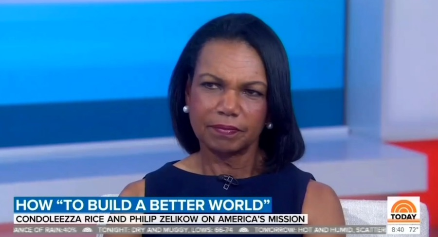 Condoleezza Rice quashes NBC anchor's suggestion that Russia elected 'Trump over Hillary Clinton'