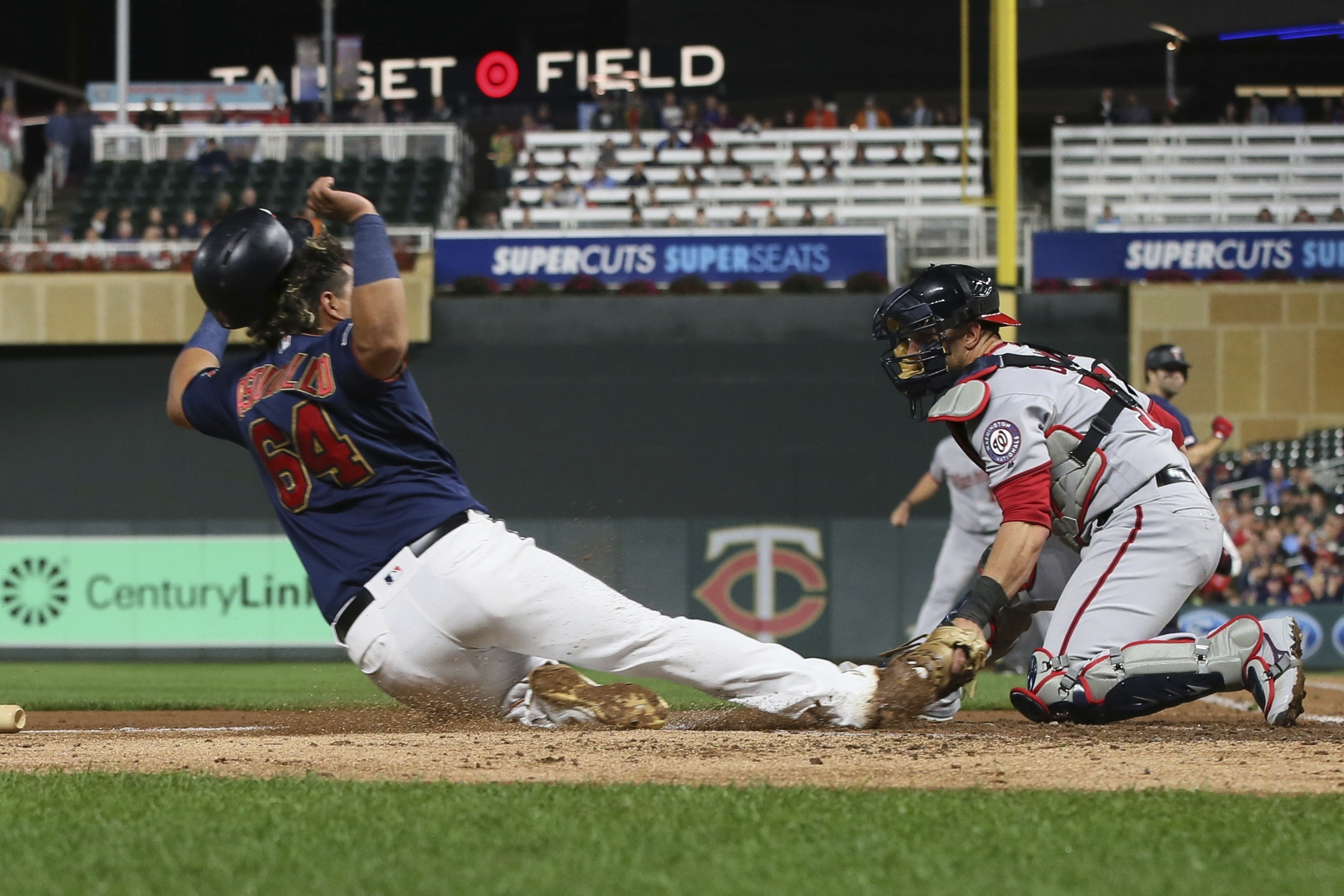 Nationals take two of three from Twins