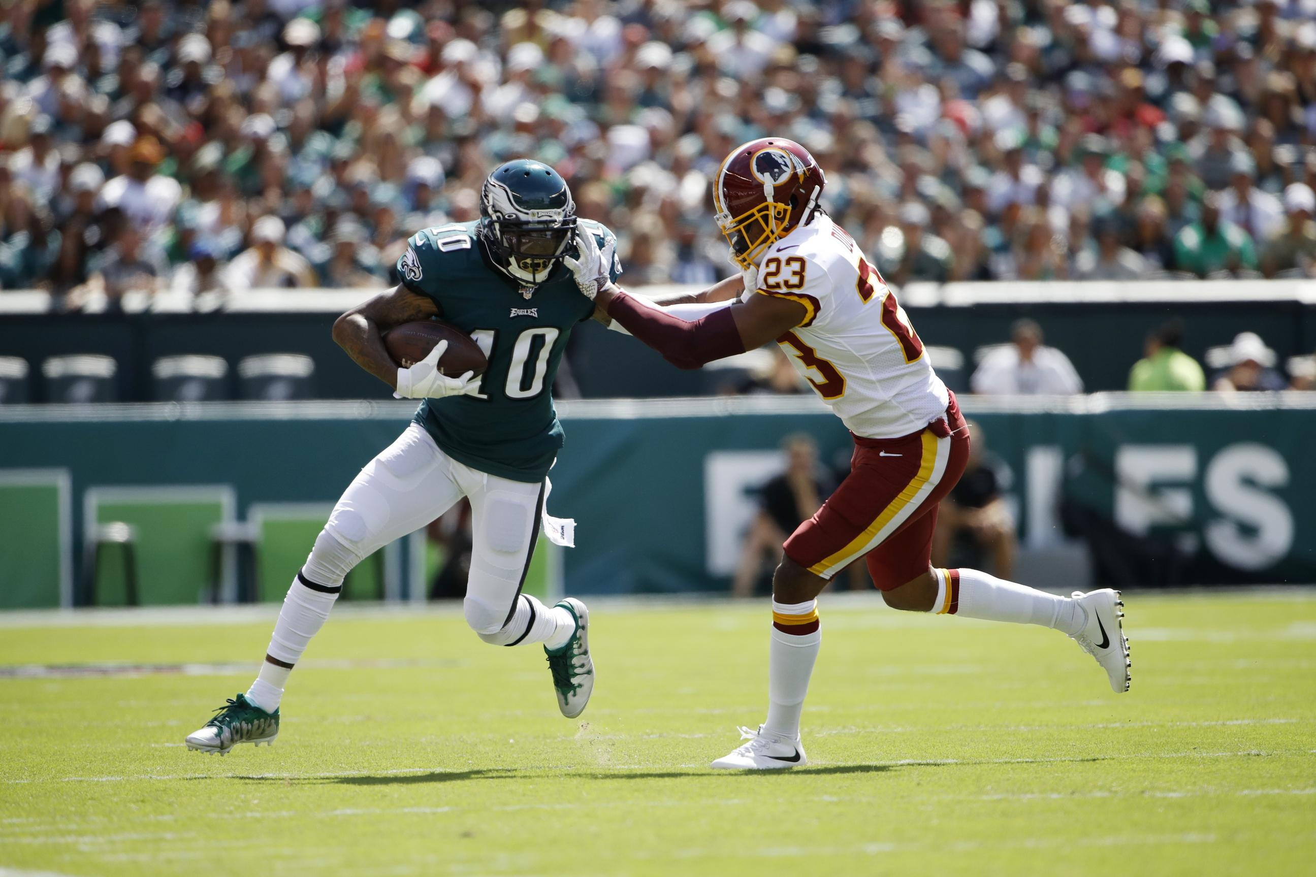DeSean Jackson fined for unnecessary roughness call against Redskins