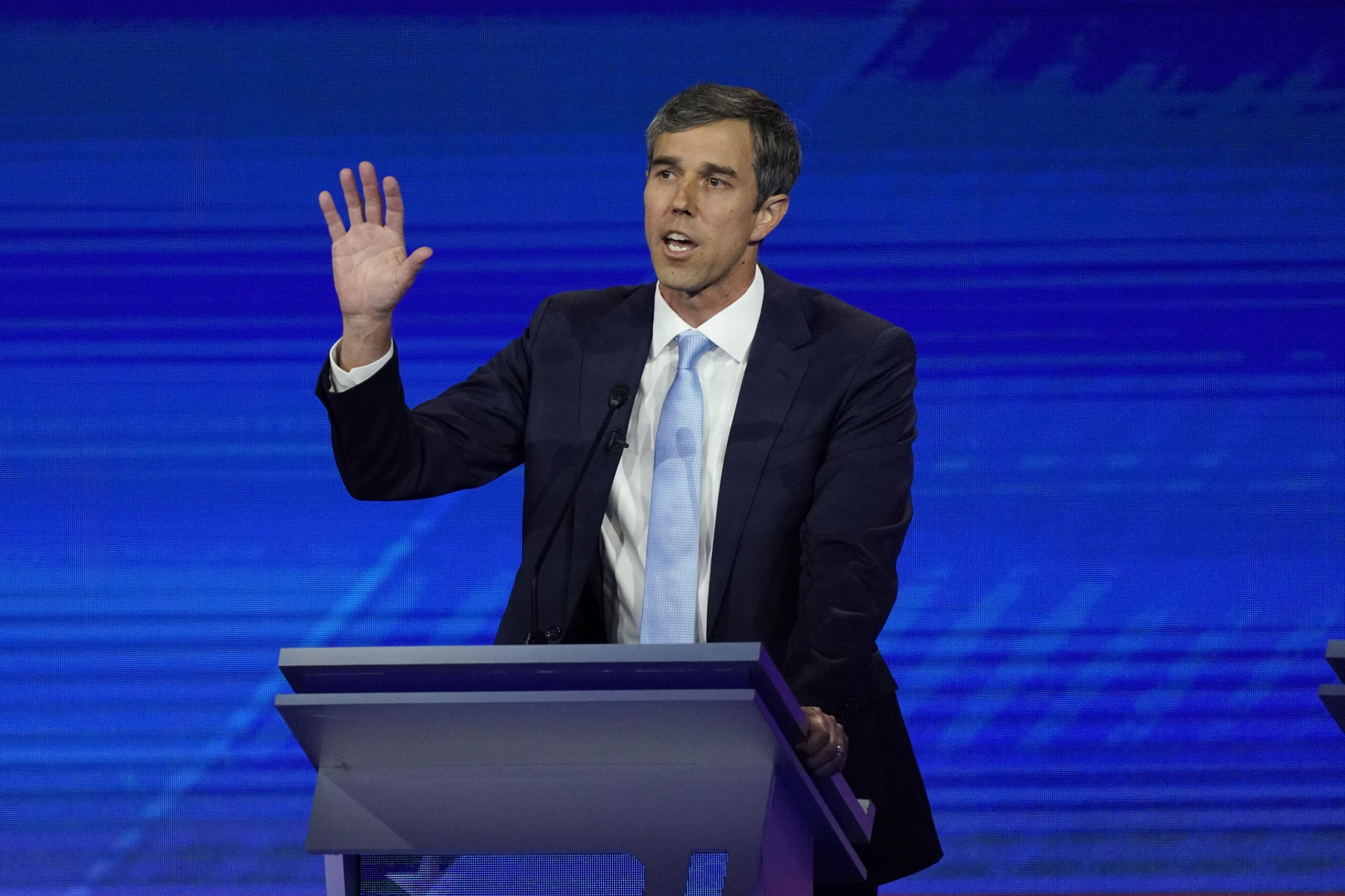 Beto O'Rourke: 'Ask Chuck Schumer' what he's done on guns