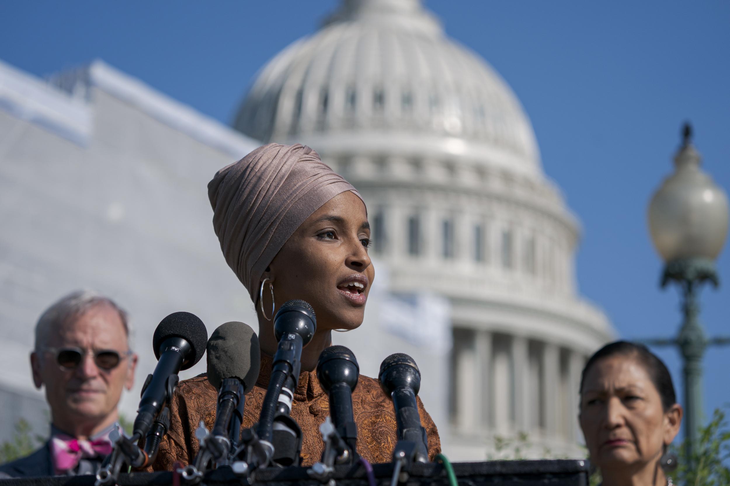 GOP challenger brands Muslim congresswoman Omar a 'jihadi' with shared Facebook post