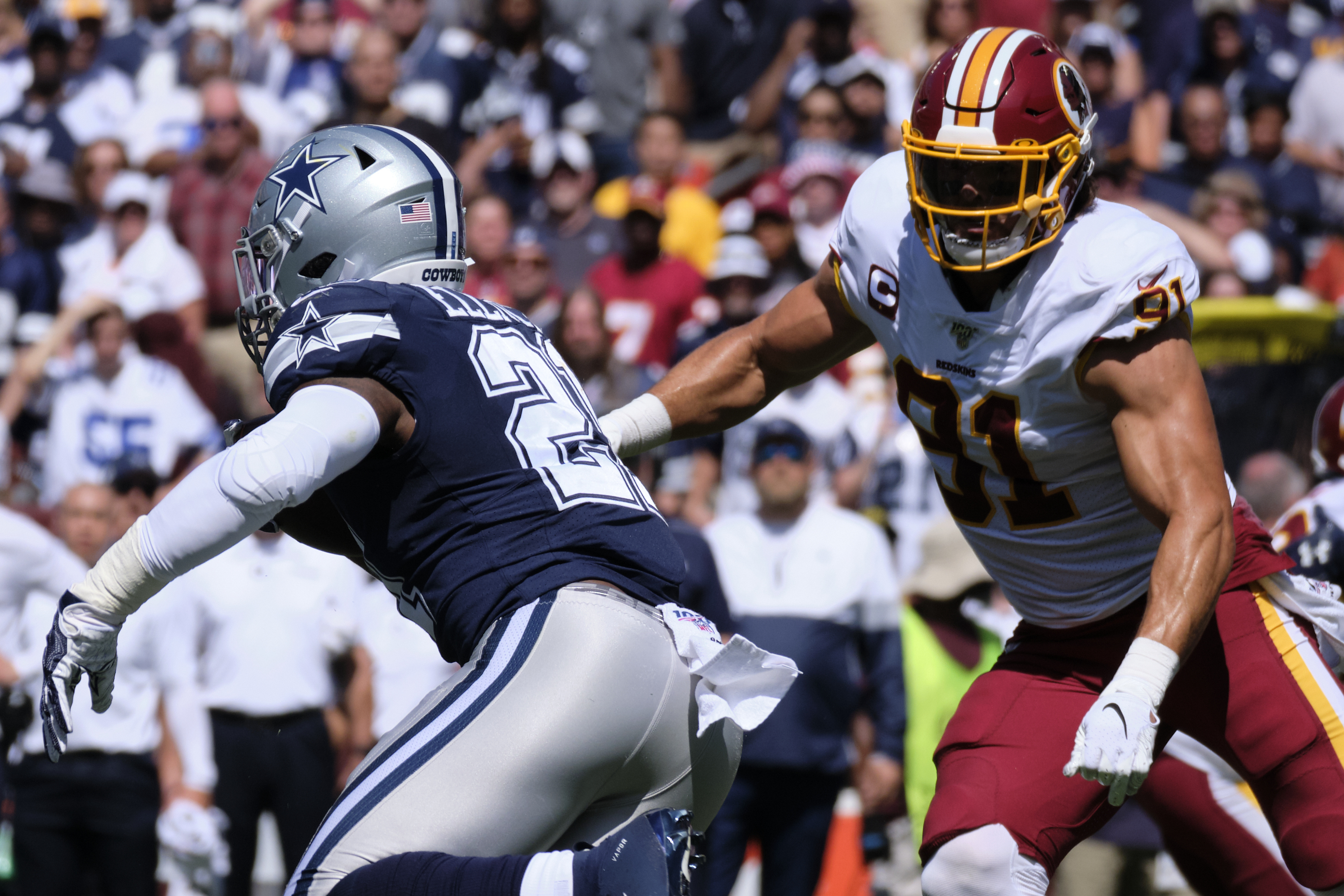 Redskins defense gives reasons to worry after horrendous start